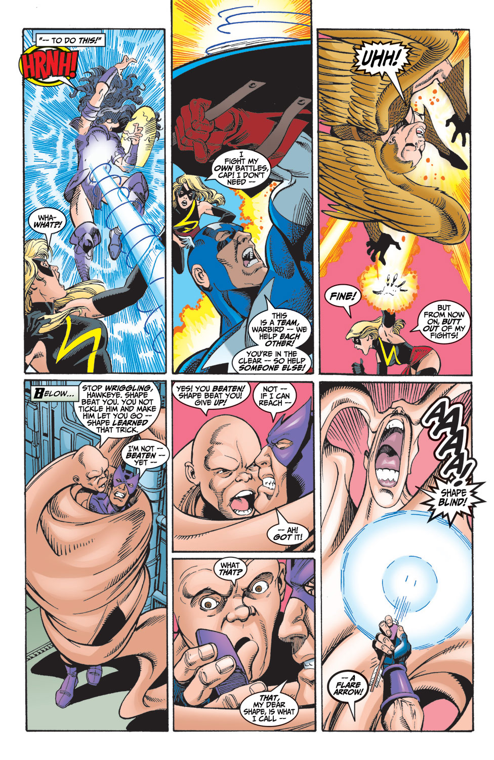 Read online Avengers (1998) comic -  Issue #6 - 17
