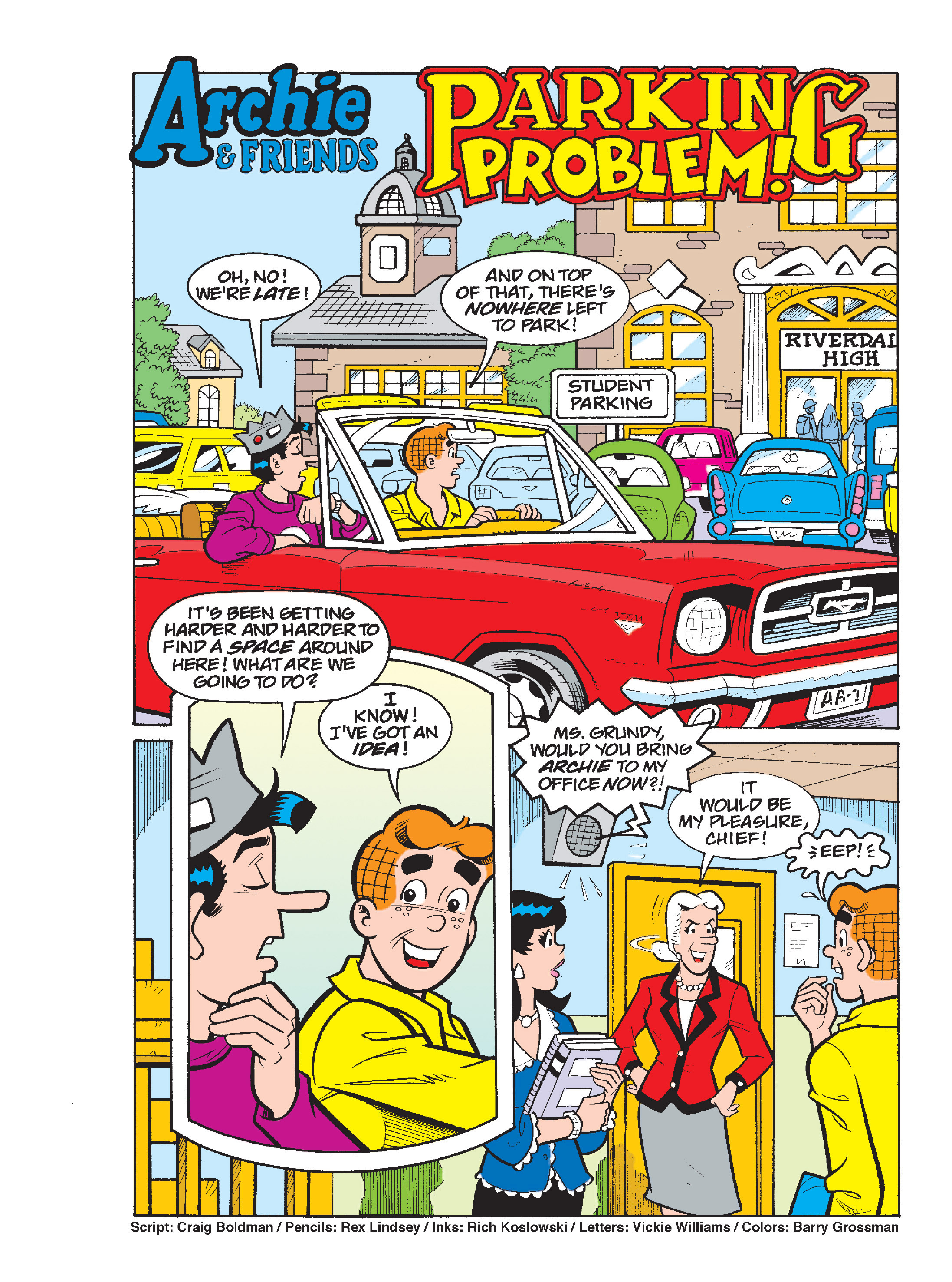 Read online Archie's Funhouse Double Digest comic -  Issue #17 - 61