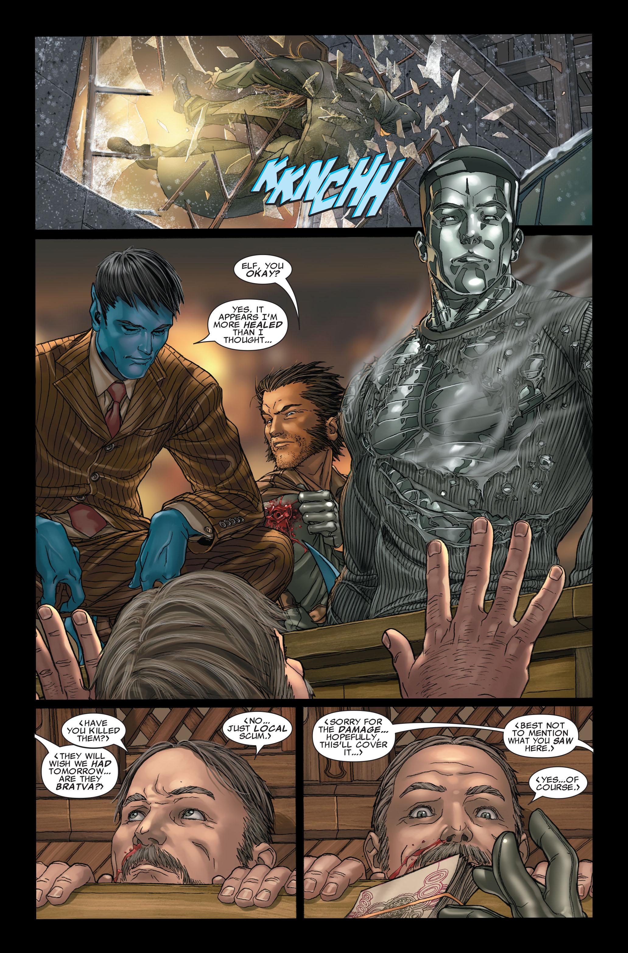 Read online Uncanny X-Men (1963) comic -  Issue #496 - 22