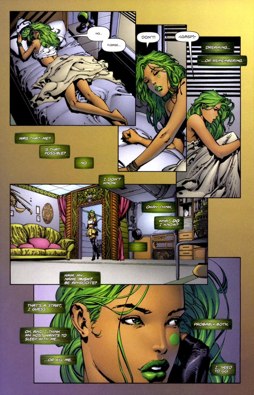 Read online Aphrodite IX (2000) comic -  Issue #2 - 14