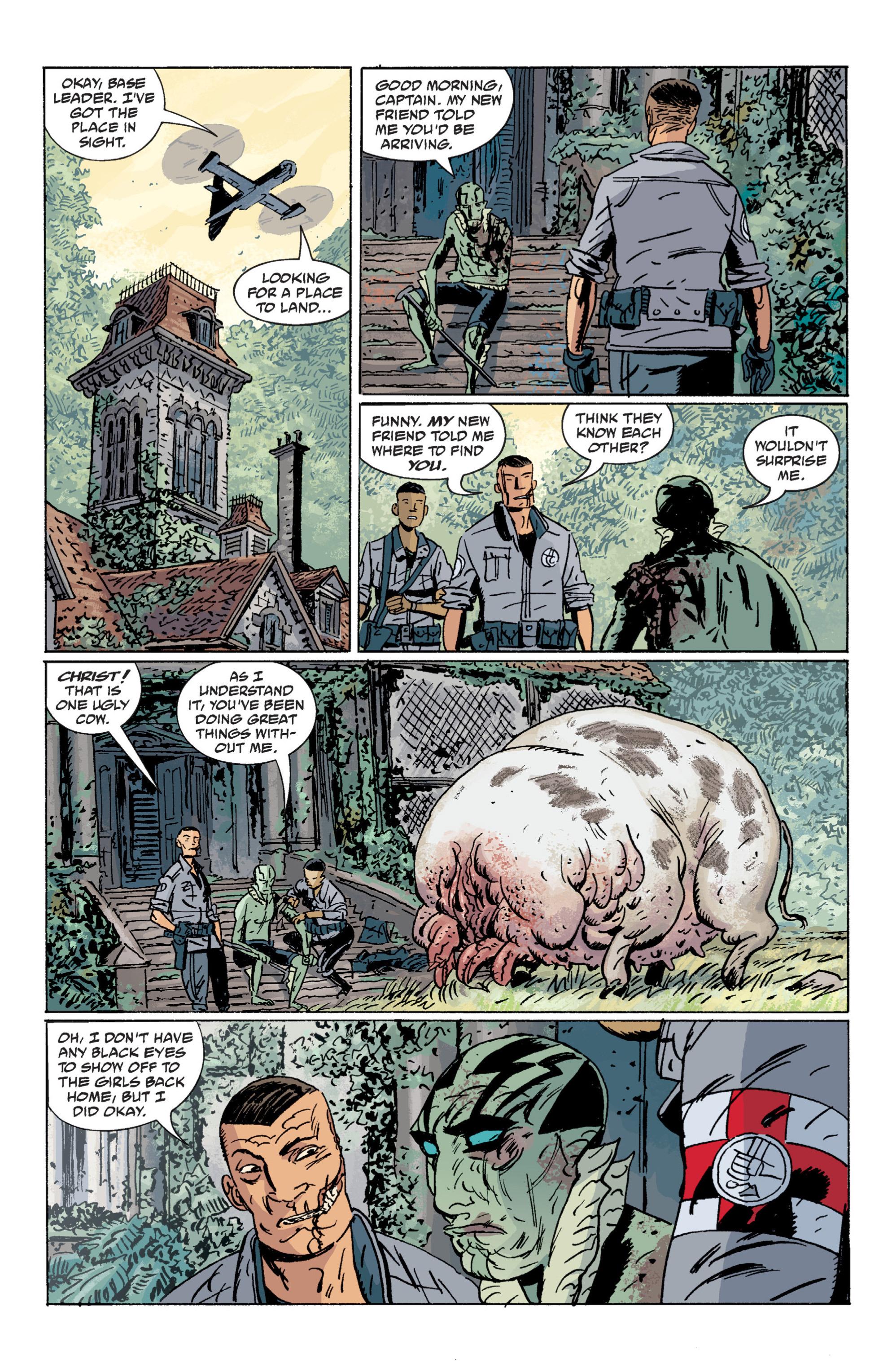 Read online B.P.R.D. (2003) comic -  Issue # TPB 7 - 136