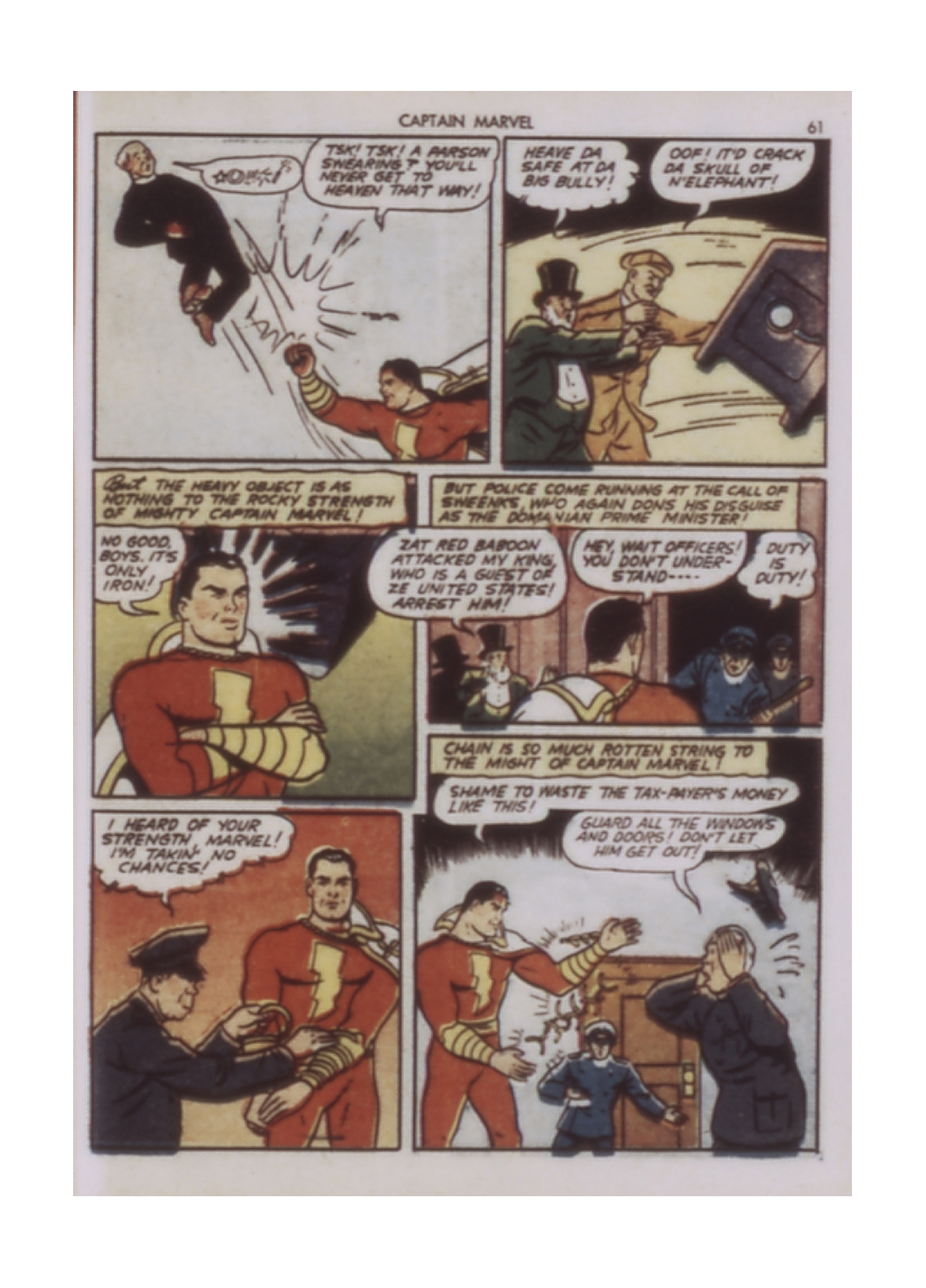 Captain Marvel Adventures issue 9 - Page 61