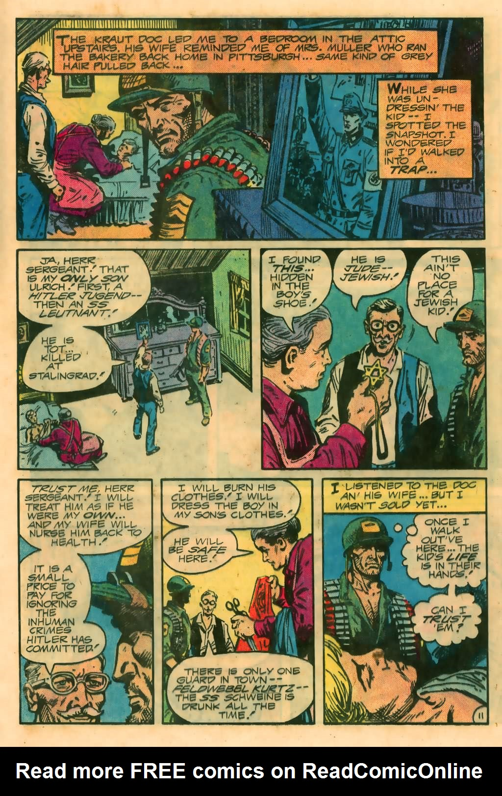 Read online Sgt. Rock comic -  Issue #374 - 15
