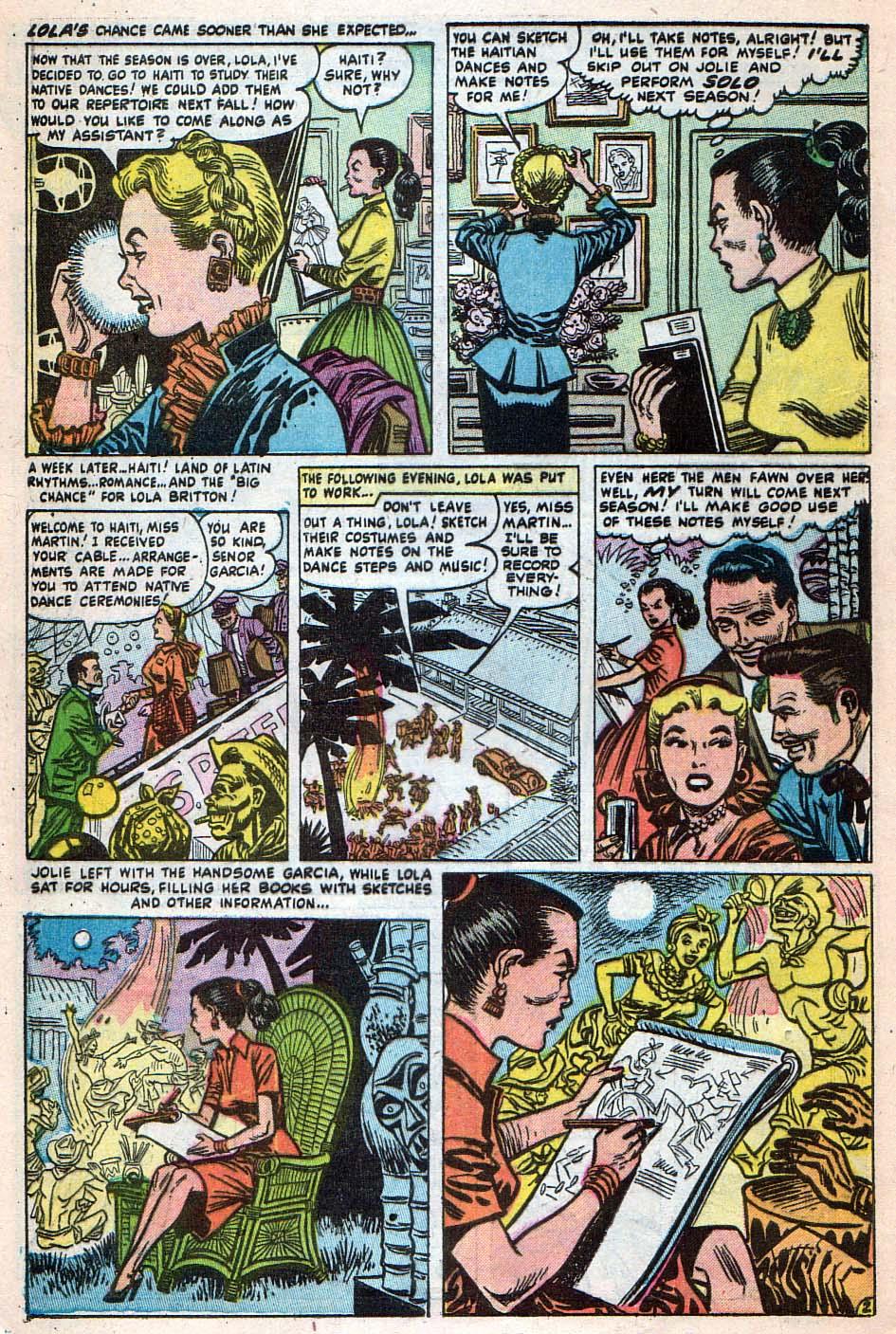 Read online Adventures into Weird Worlds comic -  Issue #25 - 9