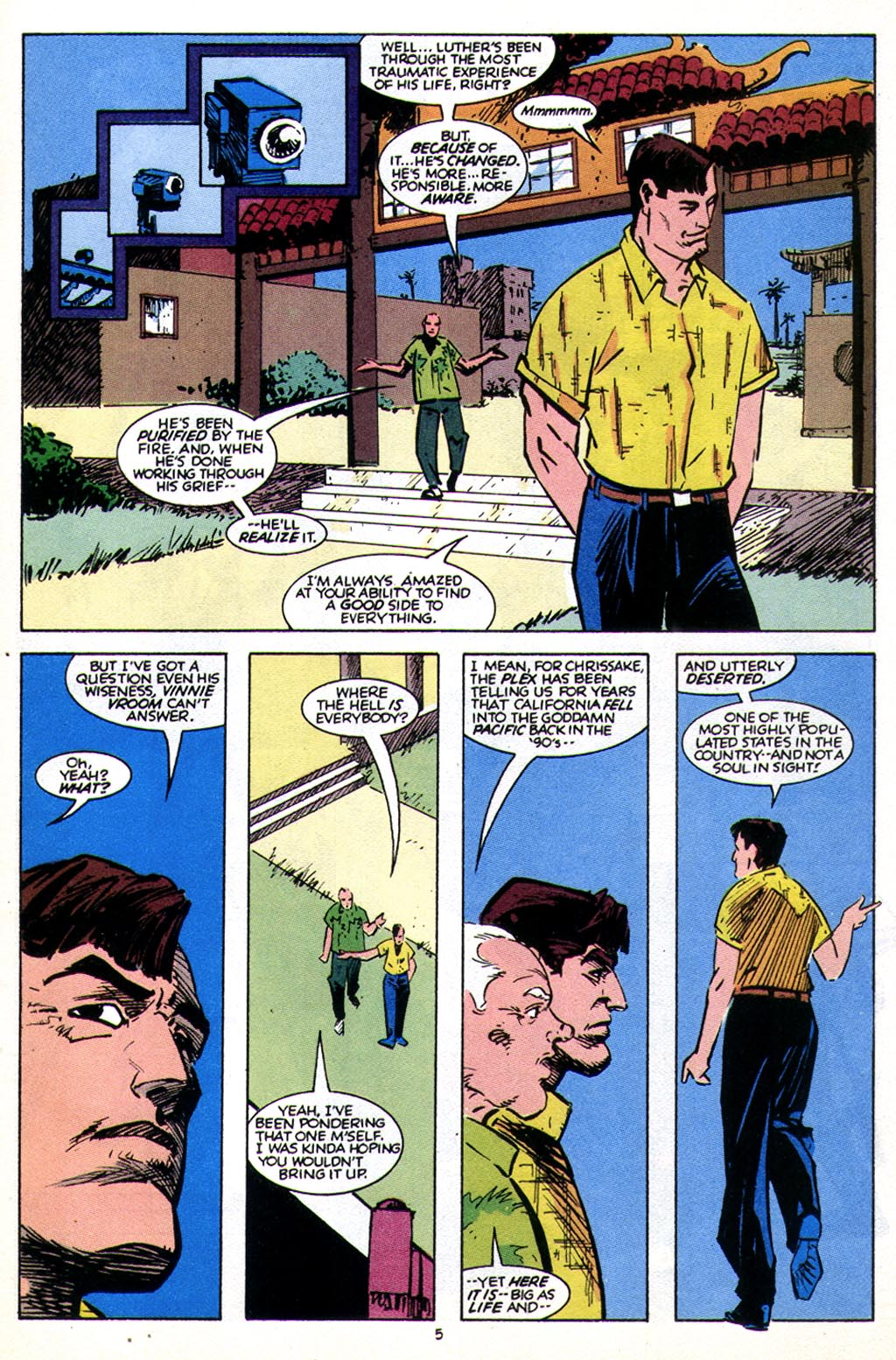Read online American Flagg! comic -  Issue #43 - 7