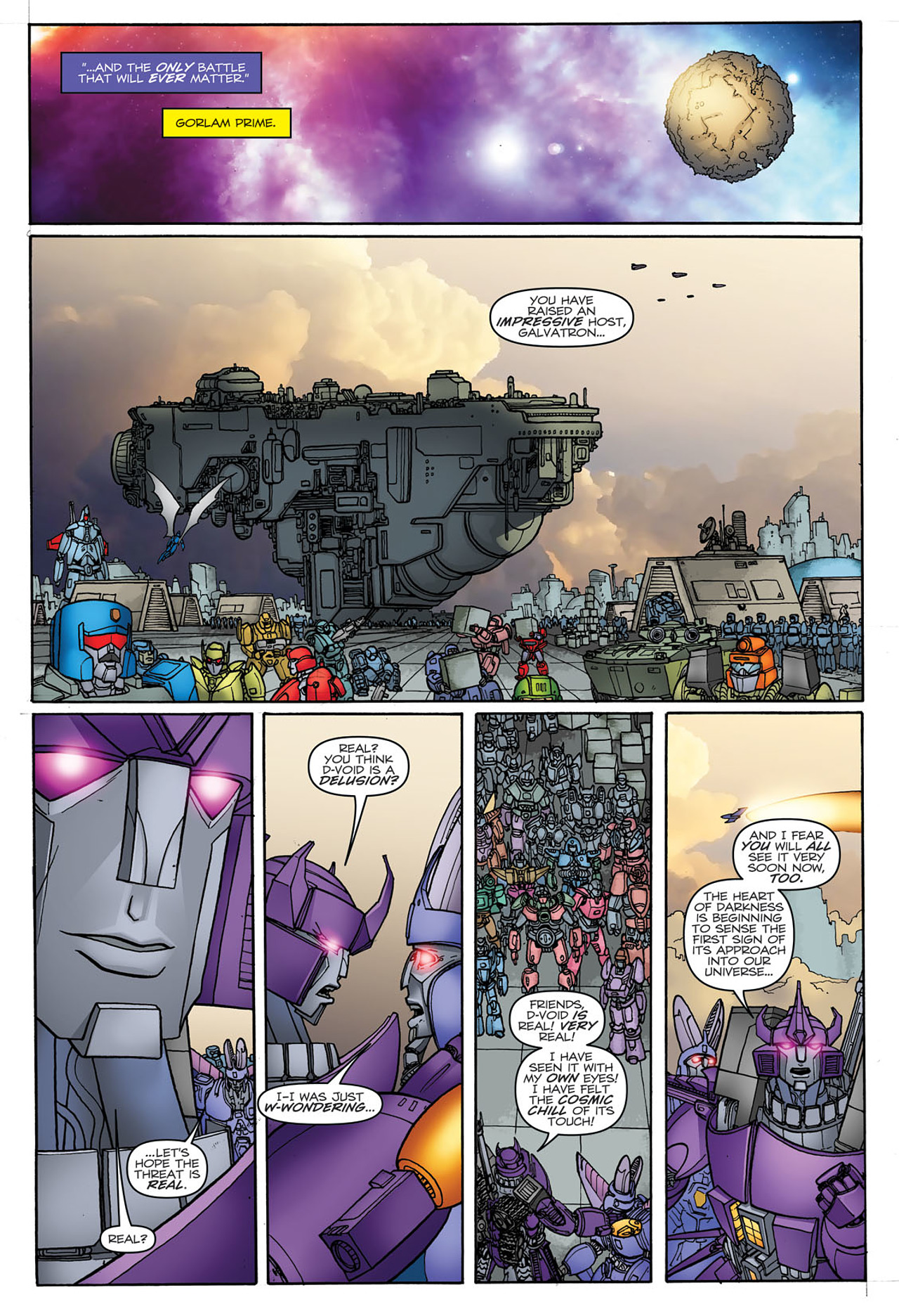 Read online Transformers: Heart of Darkness comic -  Issue #3 - 19