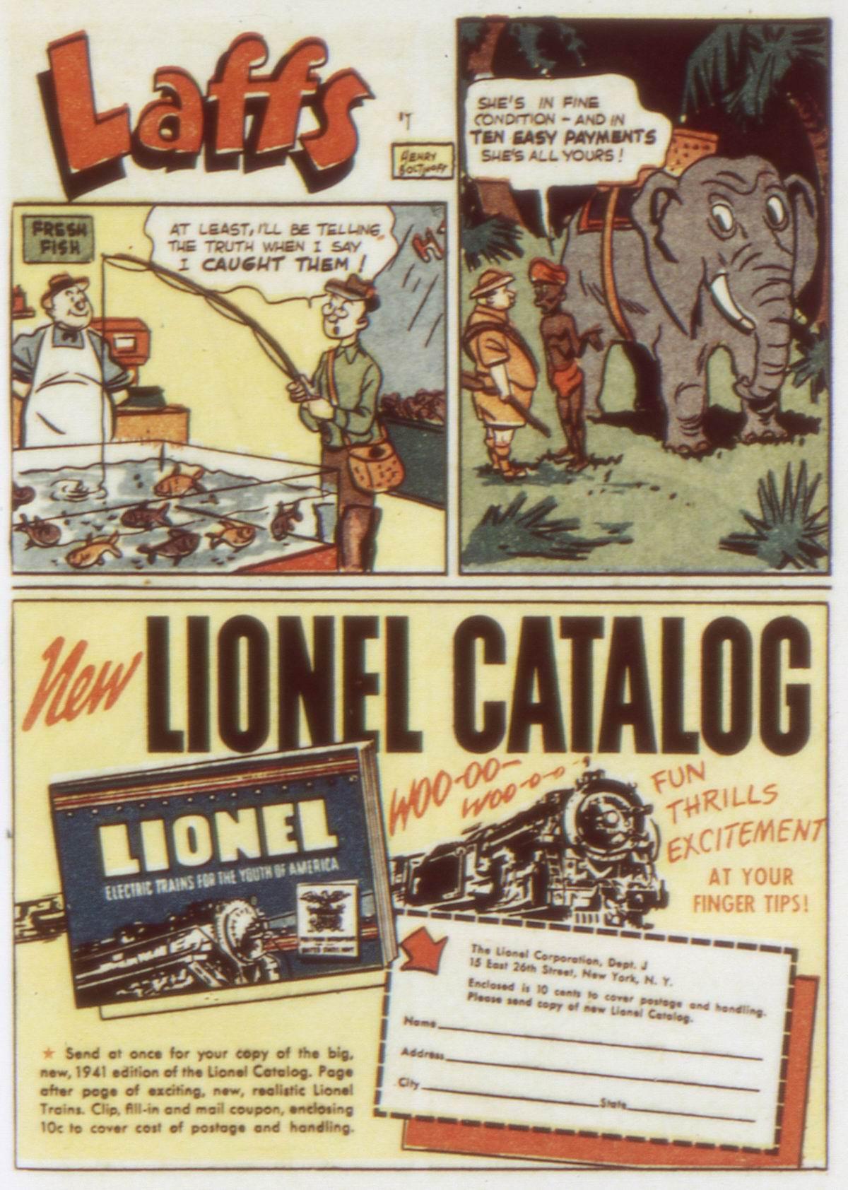 Read online Detective Comics (1937) comic -  Issue #58 - 23