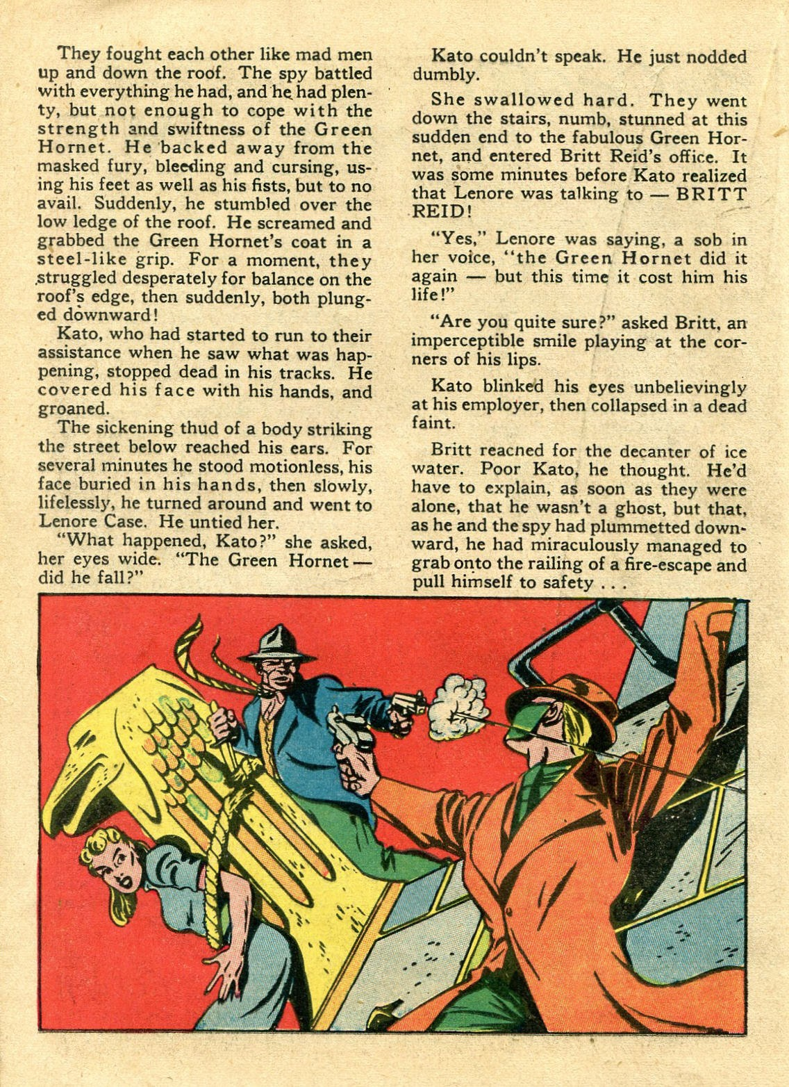 Green Hornet Comics issue 11 - Page 21