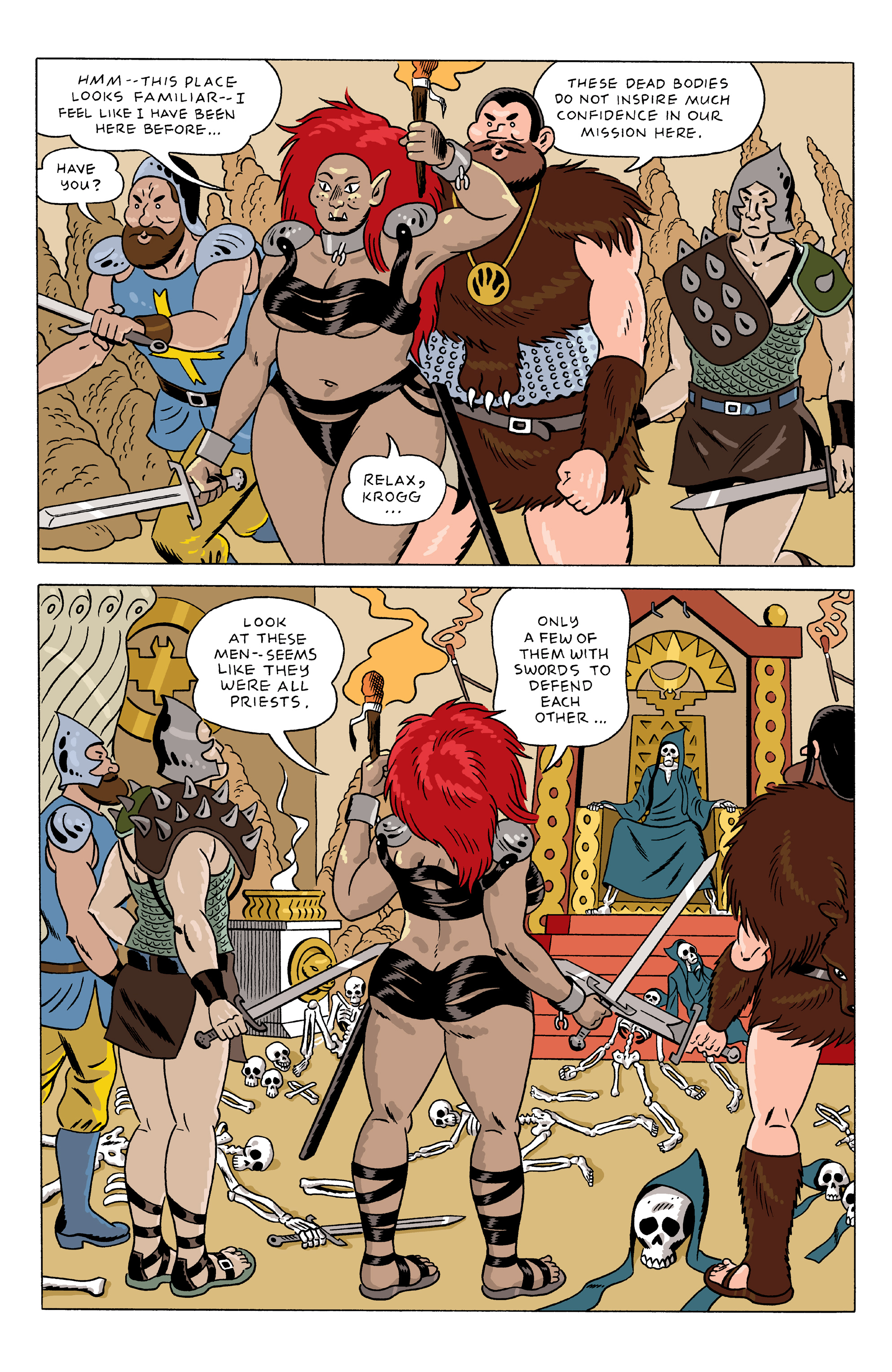 Read online She Wolf comic -  Issue #5 - 13