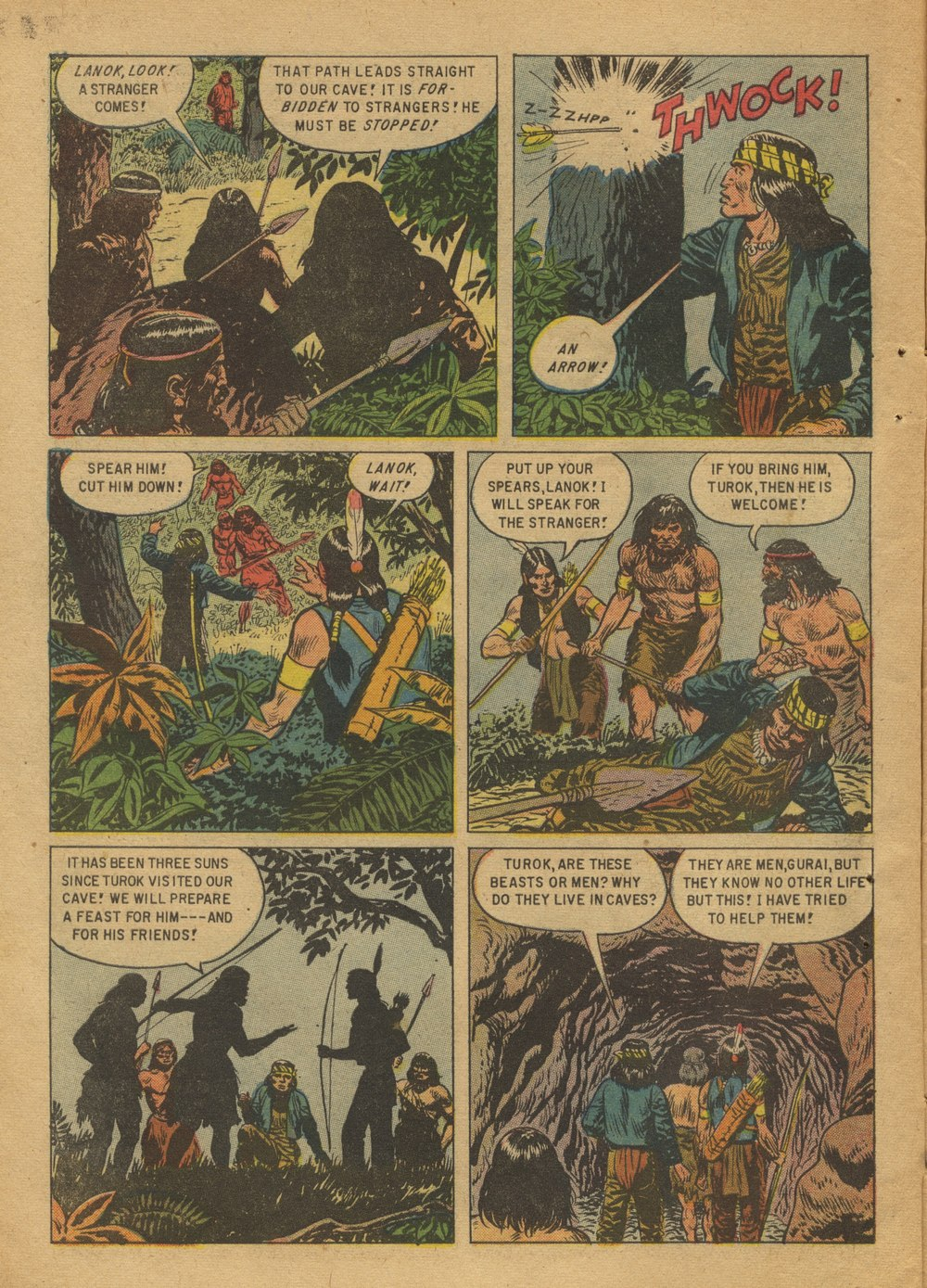 Read online Turok, Son of Stone comic -  Issue #12 - 6