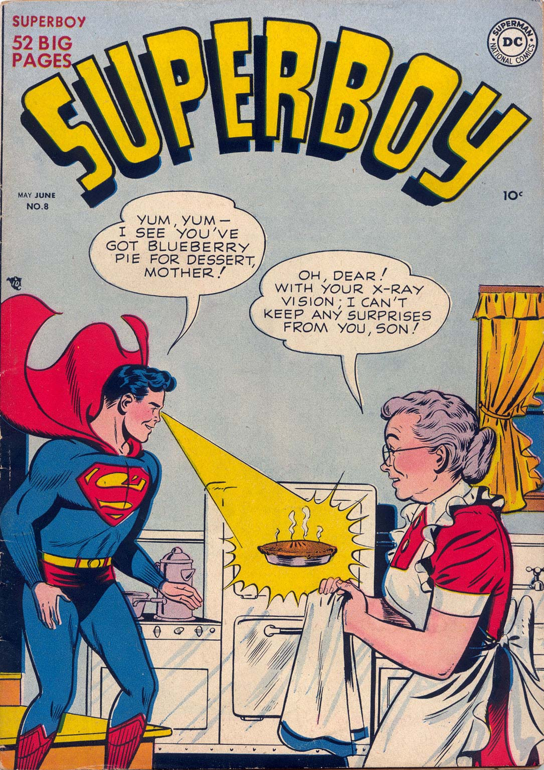 Superboy (1949) issue 8 - Page 1