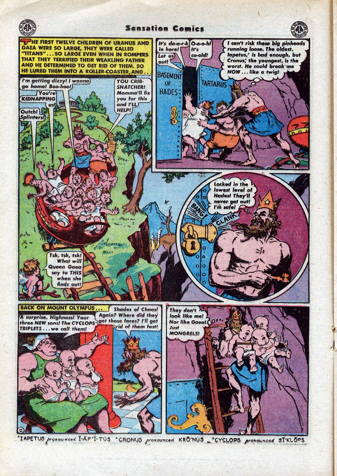 Read online Sensation (Mystery) Comics comic -  Issue #44 - 24