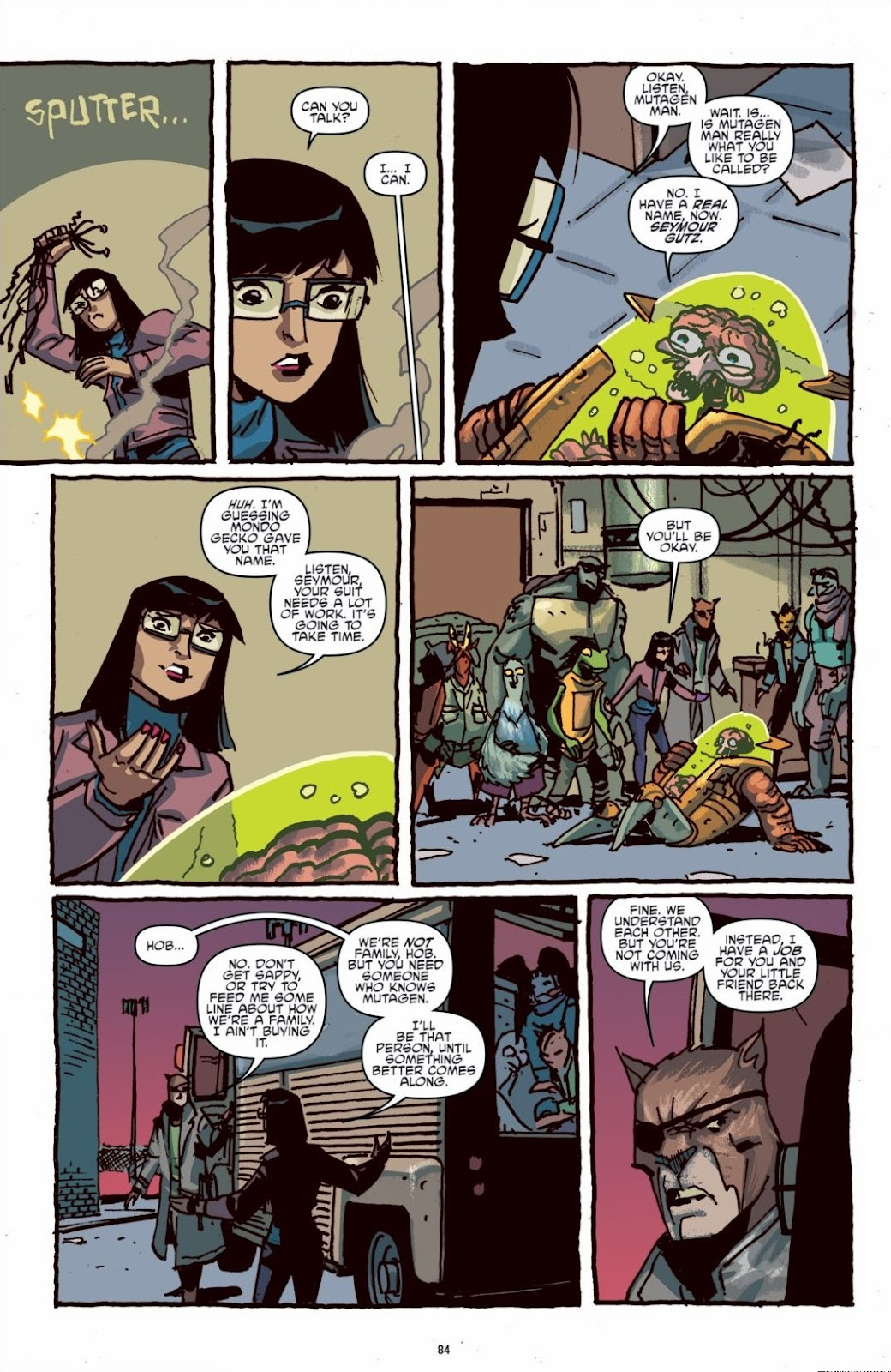 Read online Teenage Mutant Ninja Turtles: The IDW Collection comic -  Issue # TPB 6 (Part 1) - 83