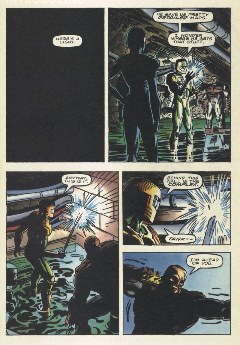 Read online Secret Weapons comic -  Issue #16 - 21