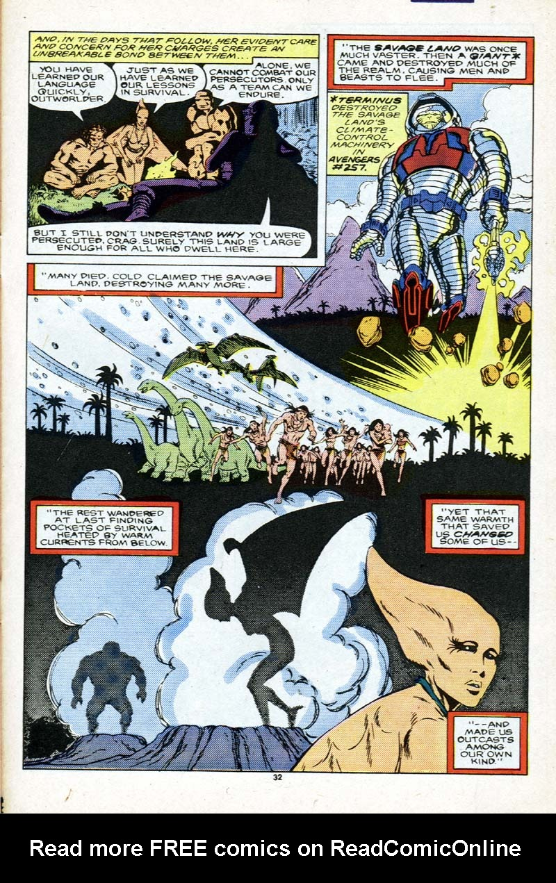 Read online Alpha Flight (1983) comic -  Issue # _Annual 2 - 33