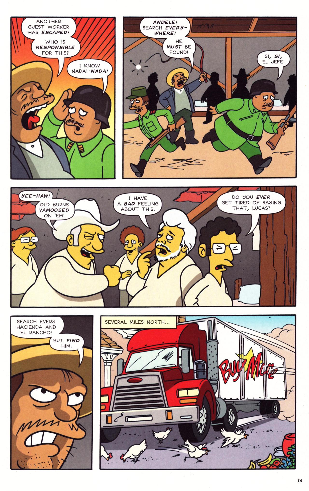 Read online Simpsons Comics comic -  Issue #133 - 16