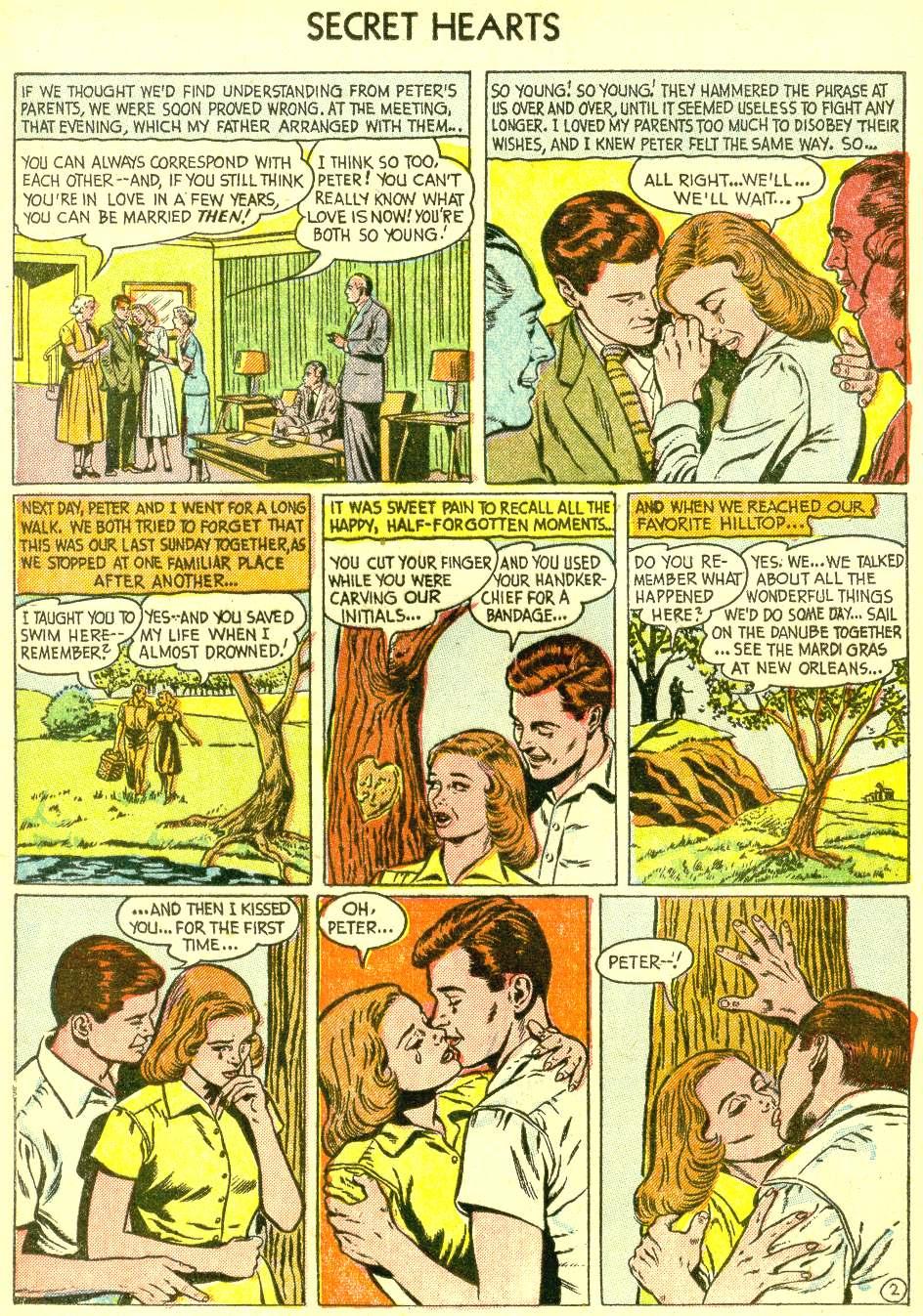Read online Secret Hearts comic -  Issue #21 - 12