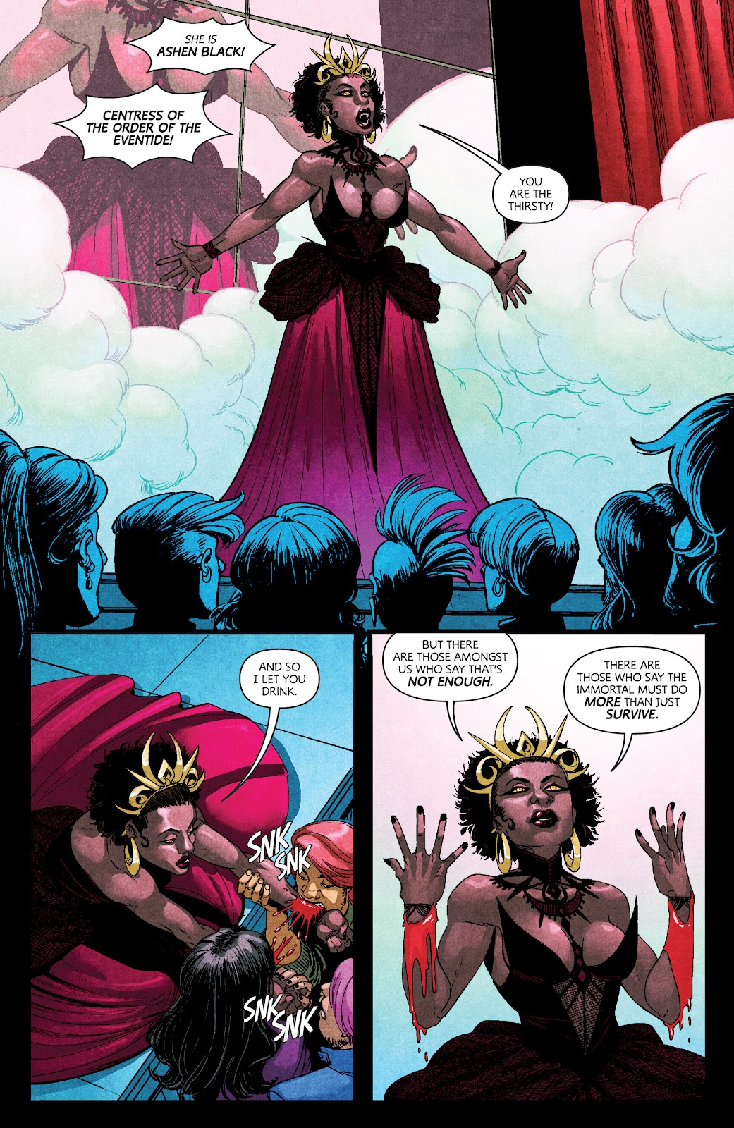 Read online Dark Red comic -  Issue #7 - 11