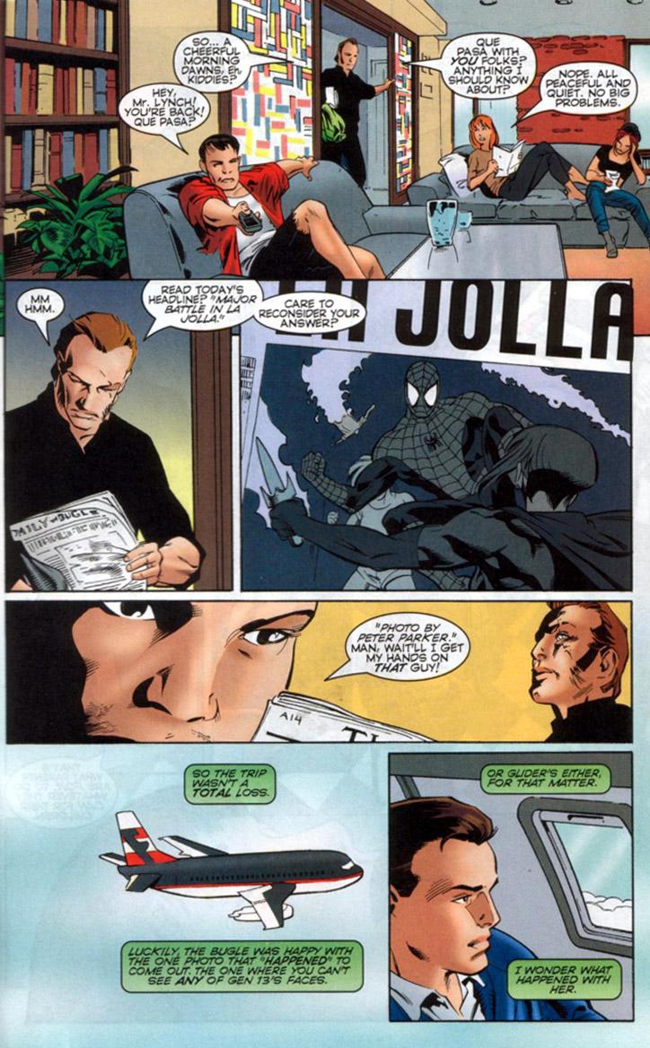 Read online Spider-Man/Gen13 comic -  Issue # Full - 48