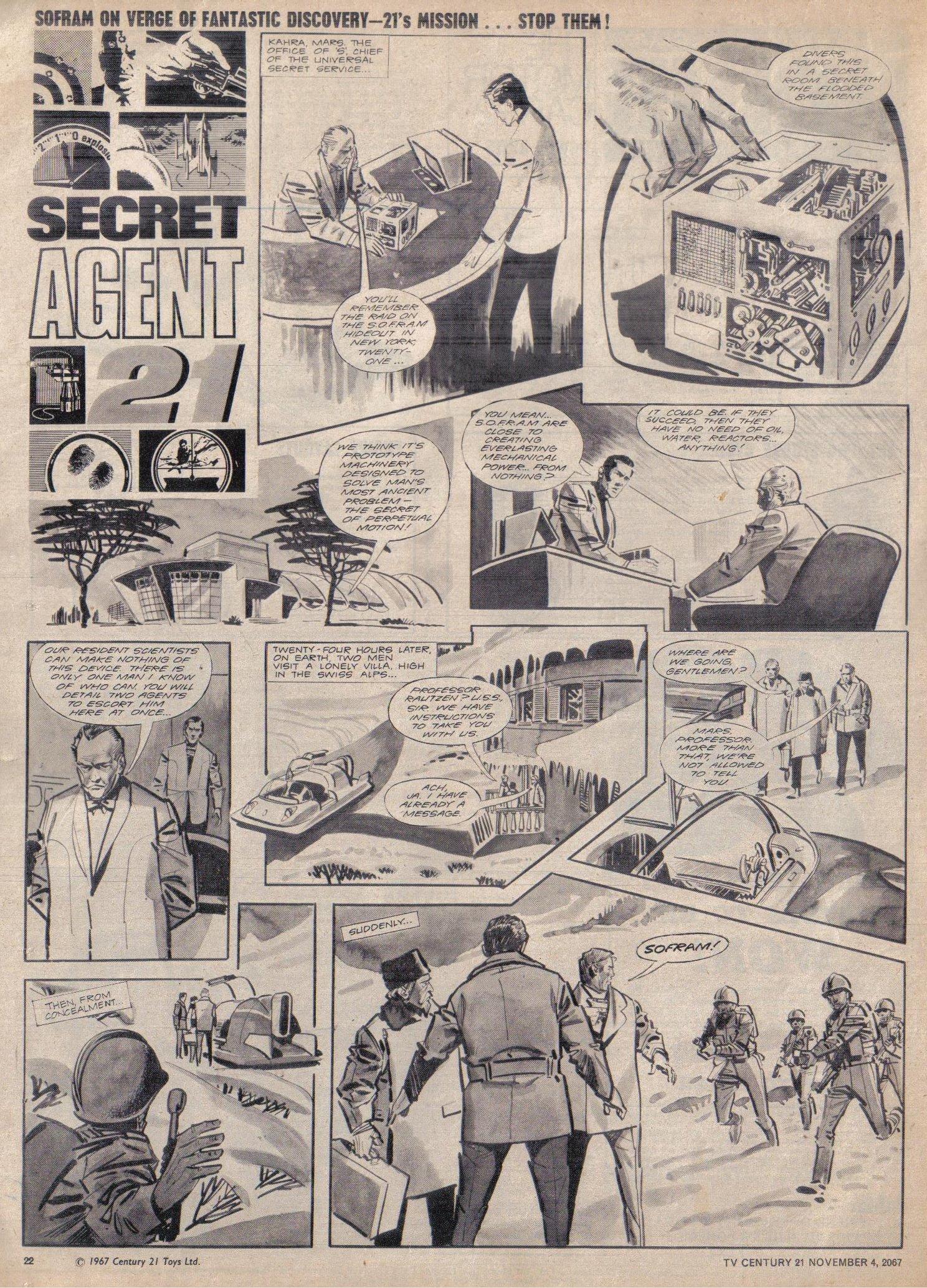 Read online TV Century 21 (TV 21) comic -  Issue #146 - 21