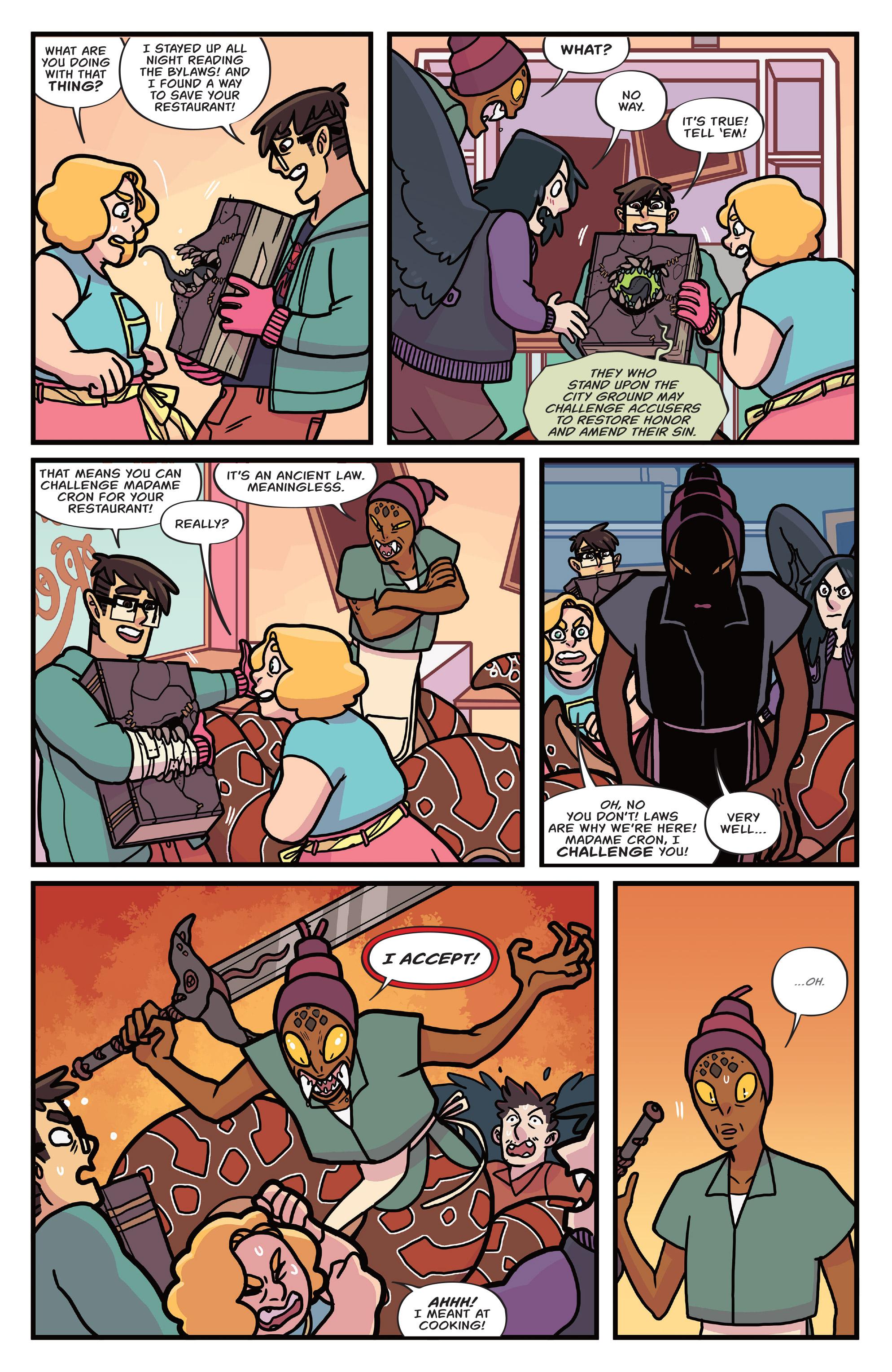 Read online Brave Chef Brianna comic -  Issue #4 - 7