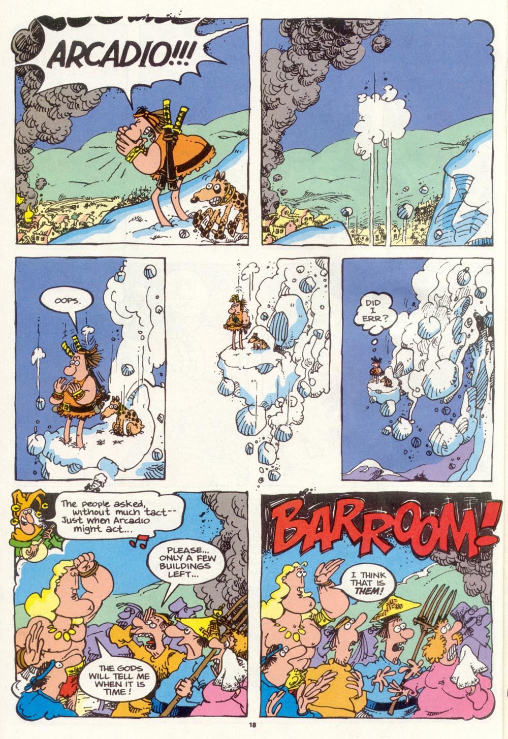 Read online Sergio Aragonés Groo the Wanderer comic -  Issue #97 - 19