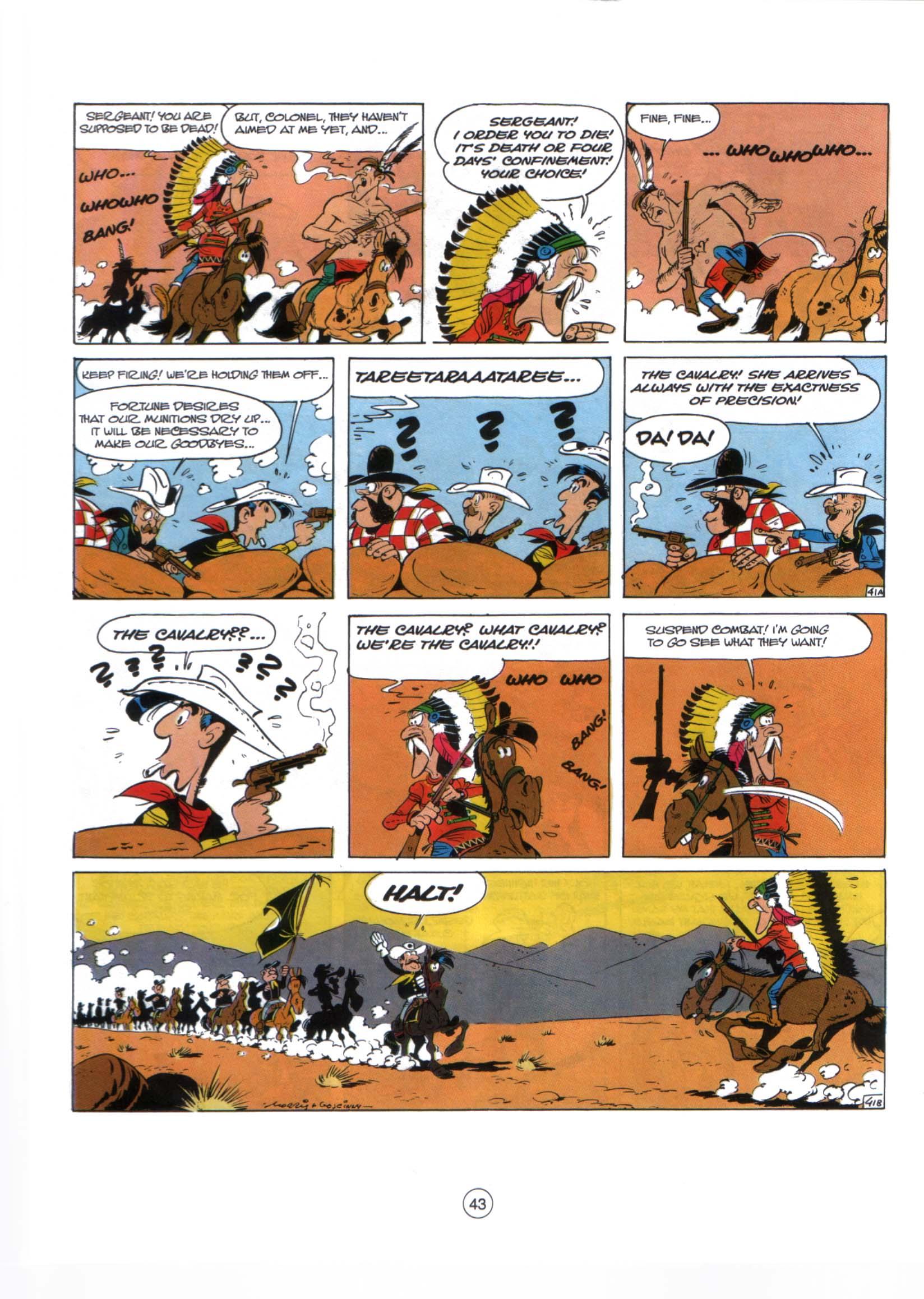 Read online A Lucky Luke Adventure comic -  Issue #29 - 42