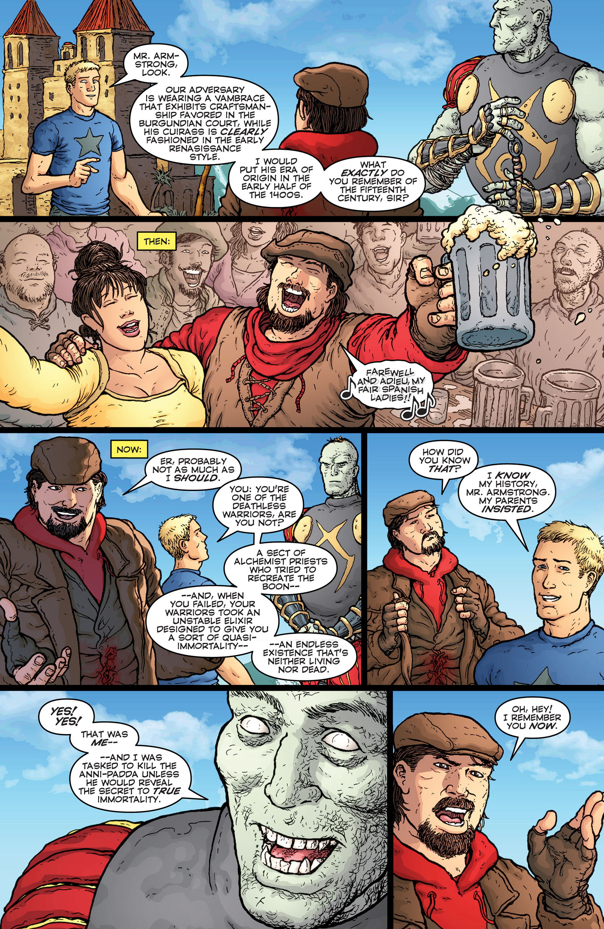 Read online Archer and Armstrong comic -  Issue #25 - 22