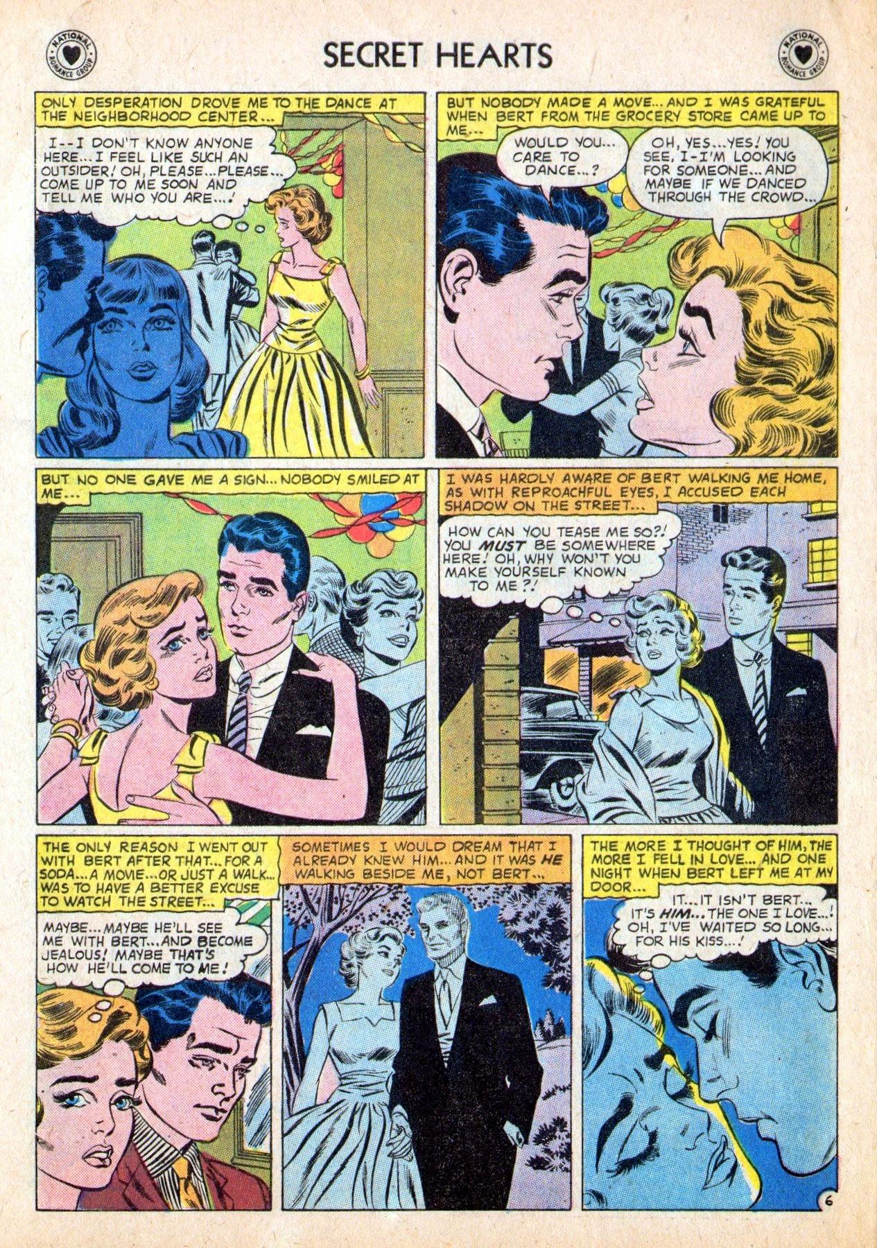 Read online Secret Hearts comic -  Issue #53 - 8