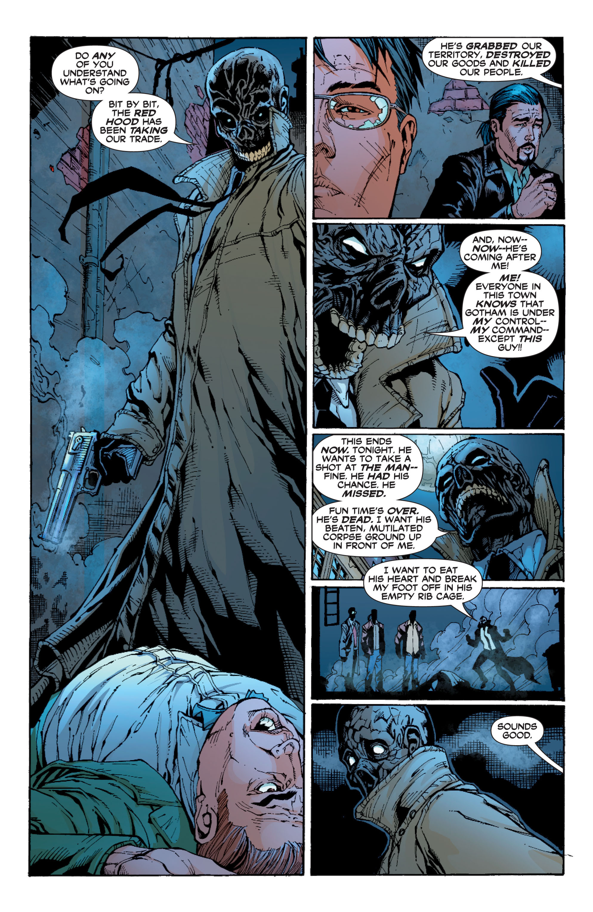 Read online Batman: Under The Red Hood comic -  Issue # Full - 217