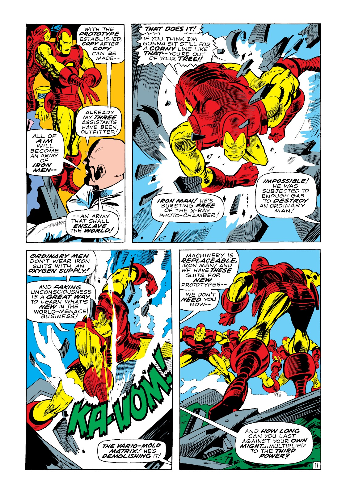 Read online Marvel Masterworks: The Invincible Iron Man comic -  Issue # TPB 4 (Part 3) - 35