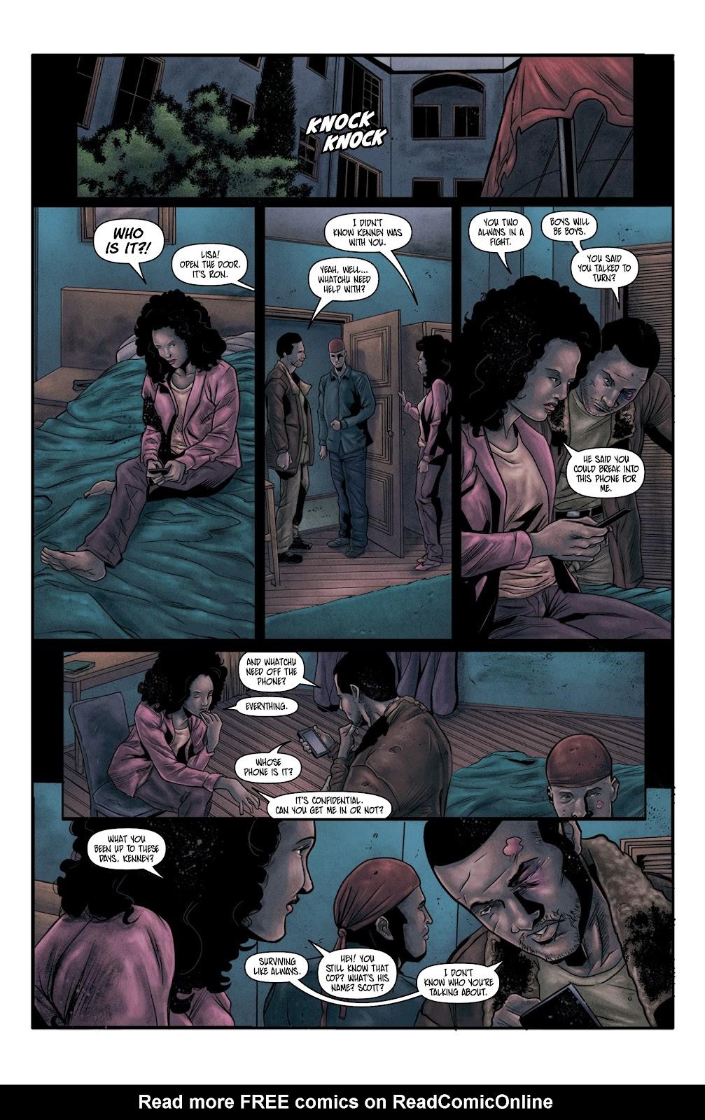Read online Vindication comic -  Issue #4 - 3