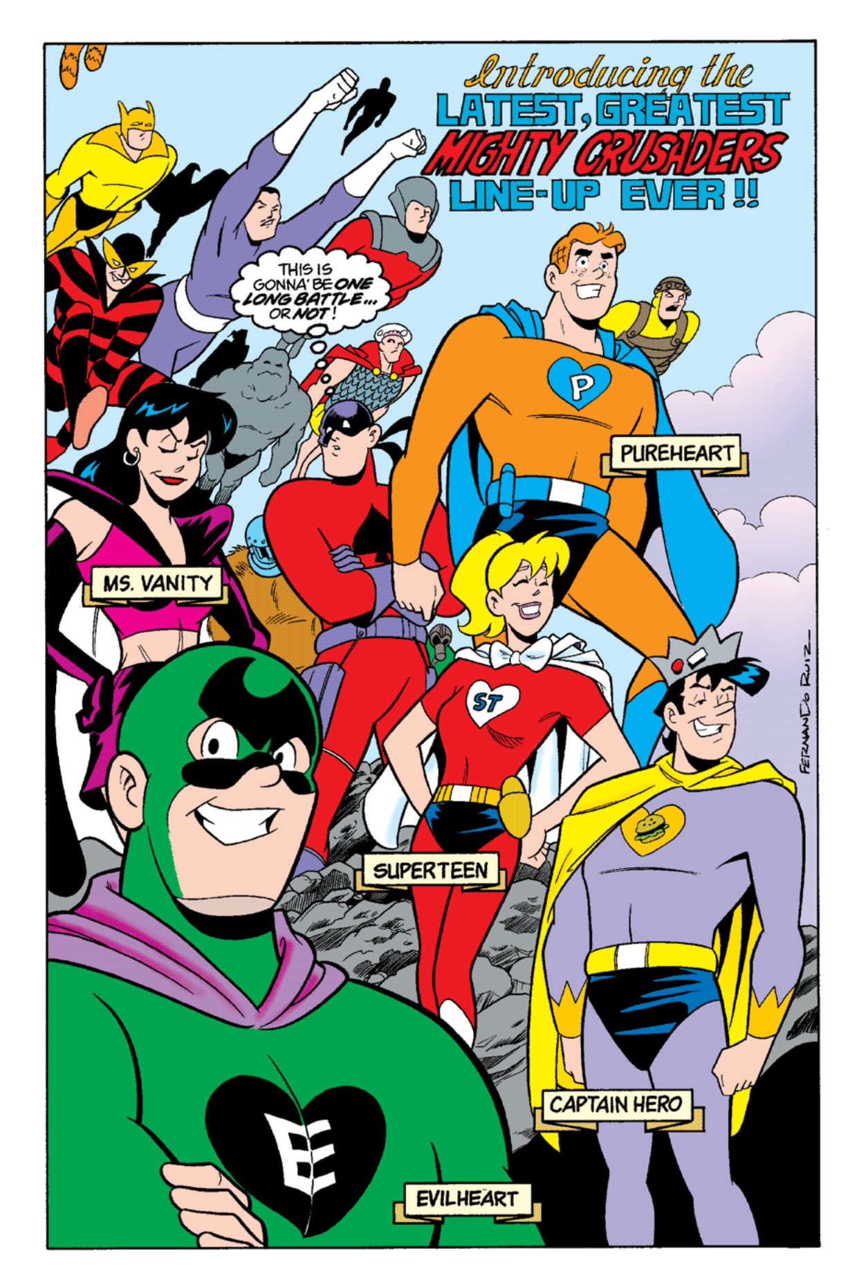 Read online Archie's Weird Mysteries comic -  Issue #14 - 2