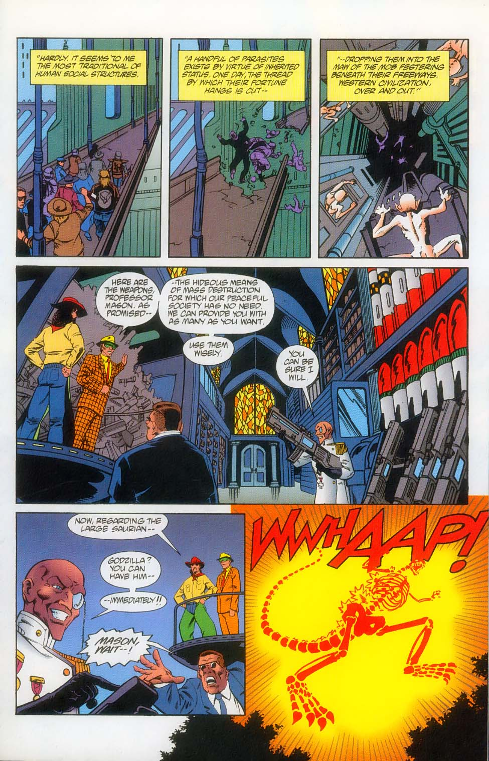 Godzilla (1995) Issue #12 #13 - English 12