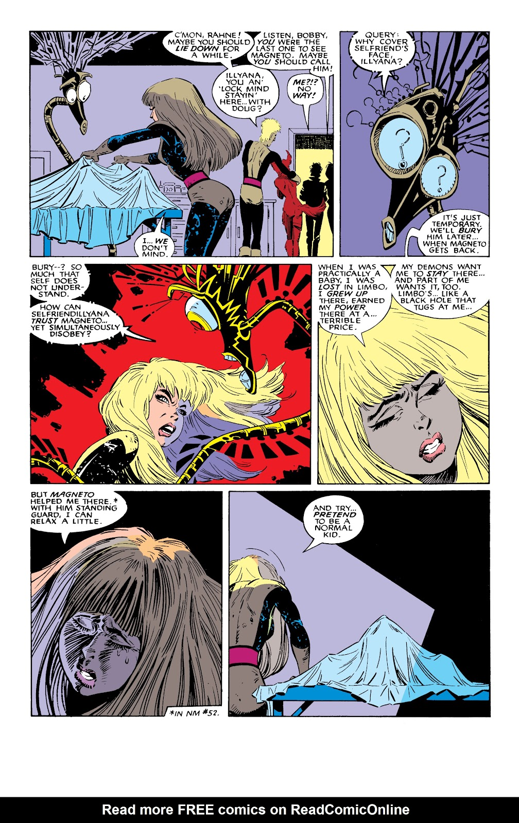Read online X-Men Milestones: Fall of the Mutants comic -  Issue # TPB (Part 2) - 67