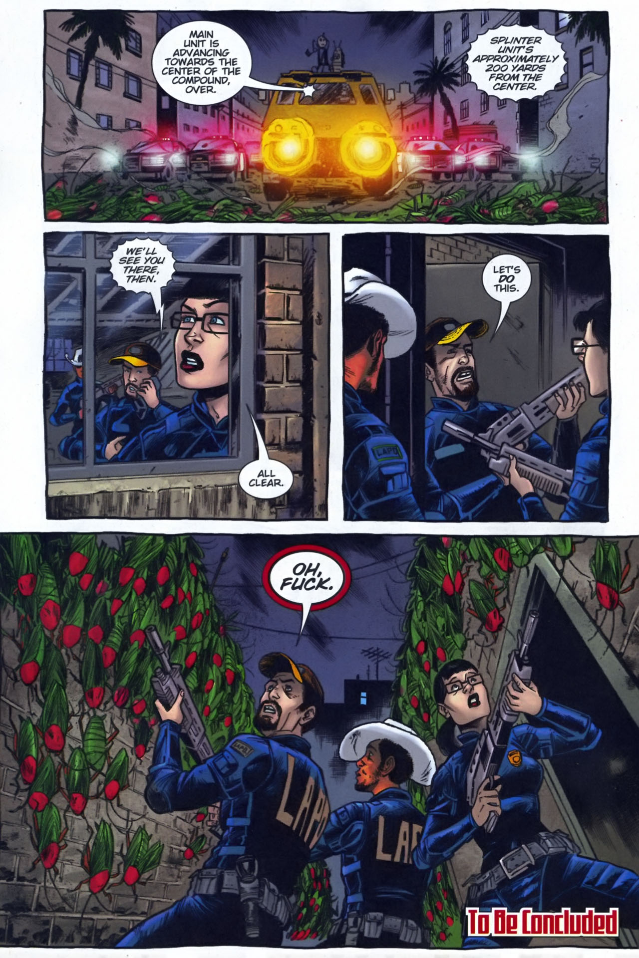 Read online The Exterminators comic -  Issue #29 - 23
