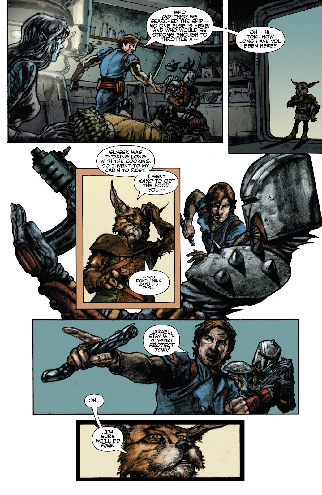Read online Star Wars Legends: The Old Republic - Epic Collection comic -  Issue # TPB 3 (Part 1) - 19