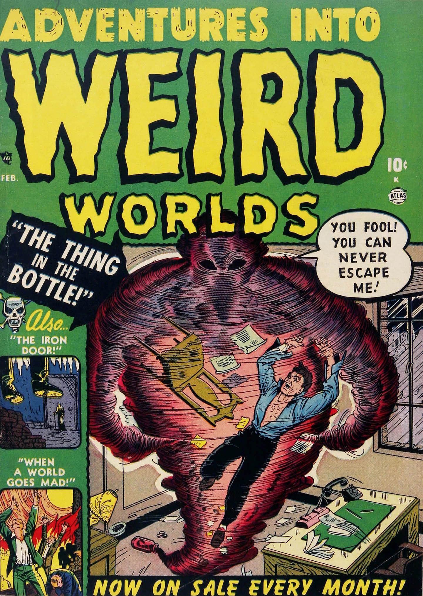 Read online Adventures into Weird Worlds comic -  Issue #2 - 1