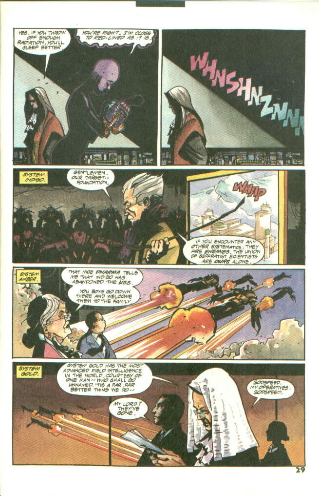 Read online Shadow Cabinet comic -  Issue #8 - 23