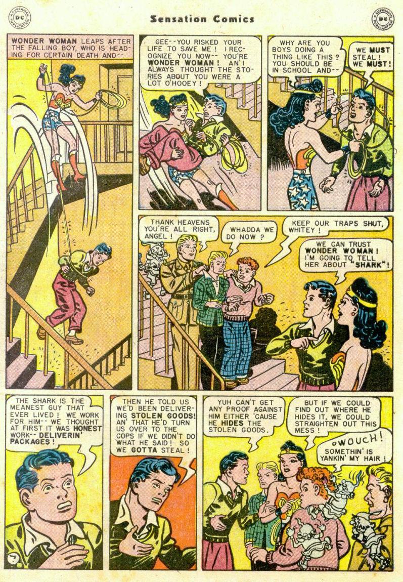 Read online Sensation (Mystery) Comics comic -  Issue #75 - 8