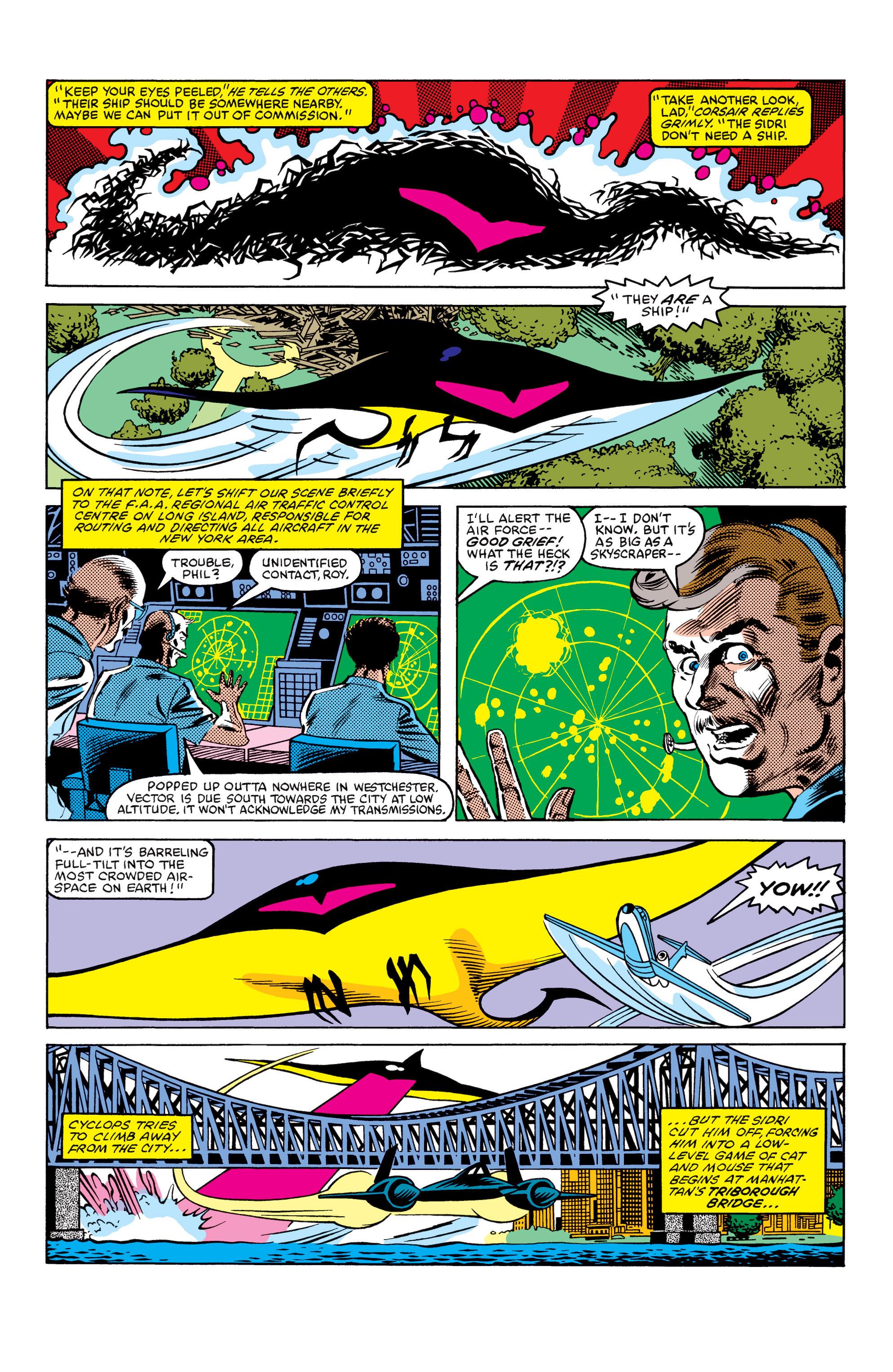 Read online Uncanny X-Men (1963) comic -  Issue #154 - 16