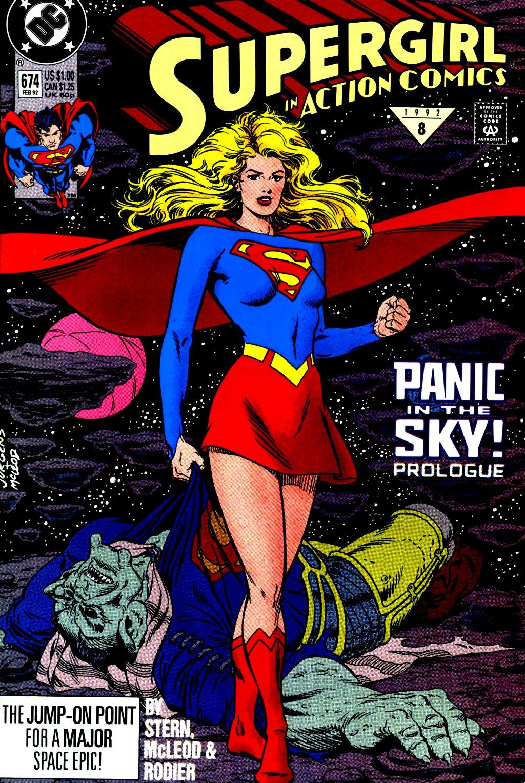 Action Comics (1938) 674 Page 1