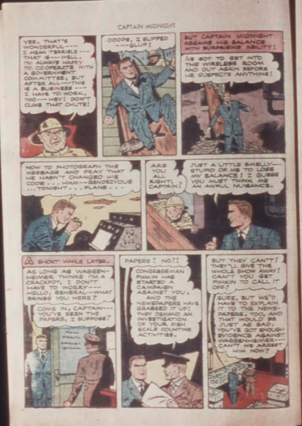 Captain Midnight (1942) issue 21 - Page 16