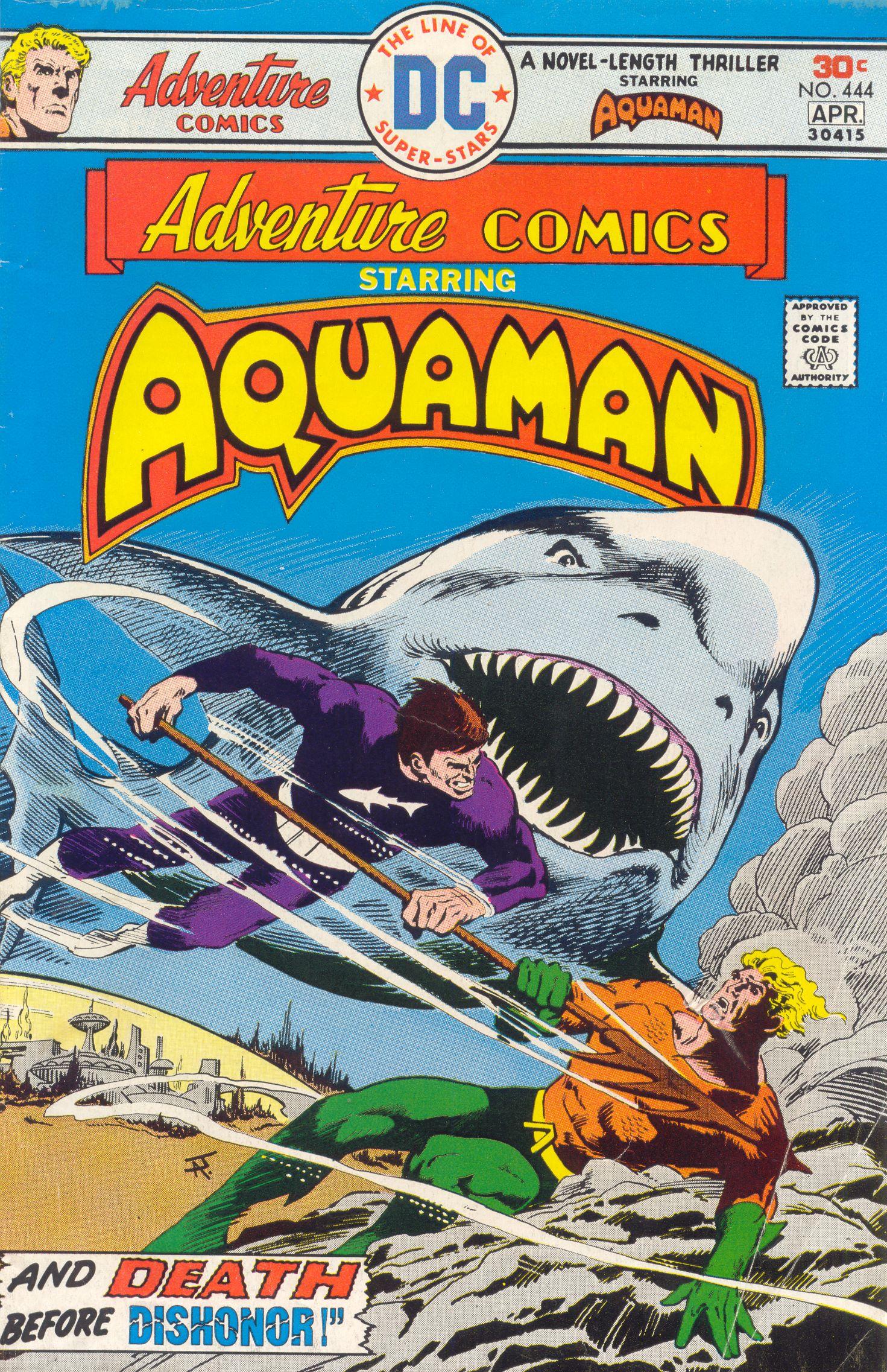 Read online Adventure Comics (1938) comic -  Issue #444 - 1
