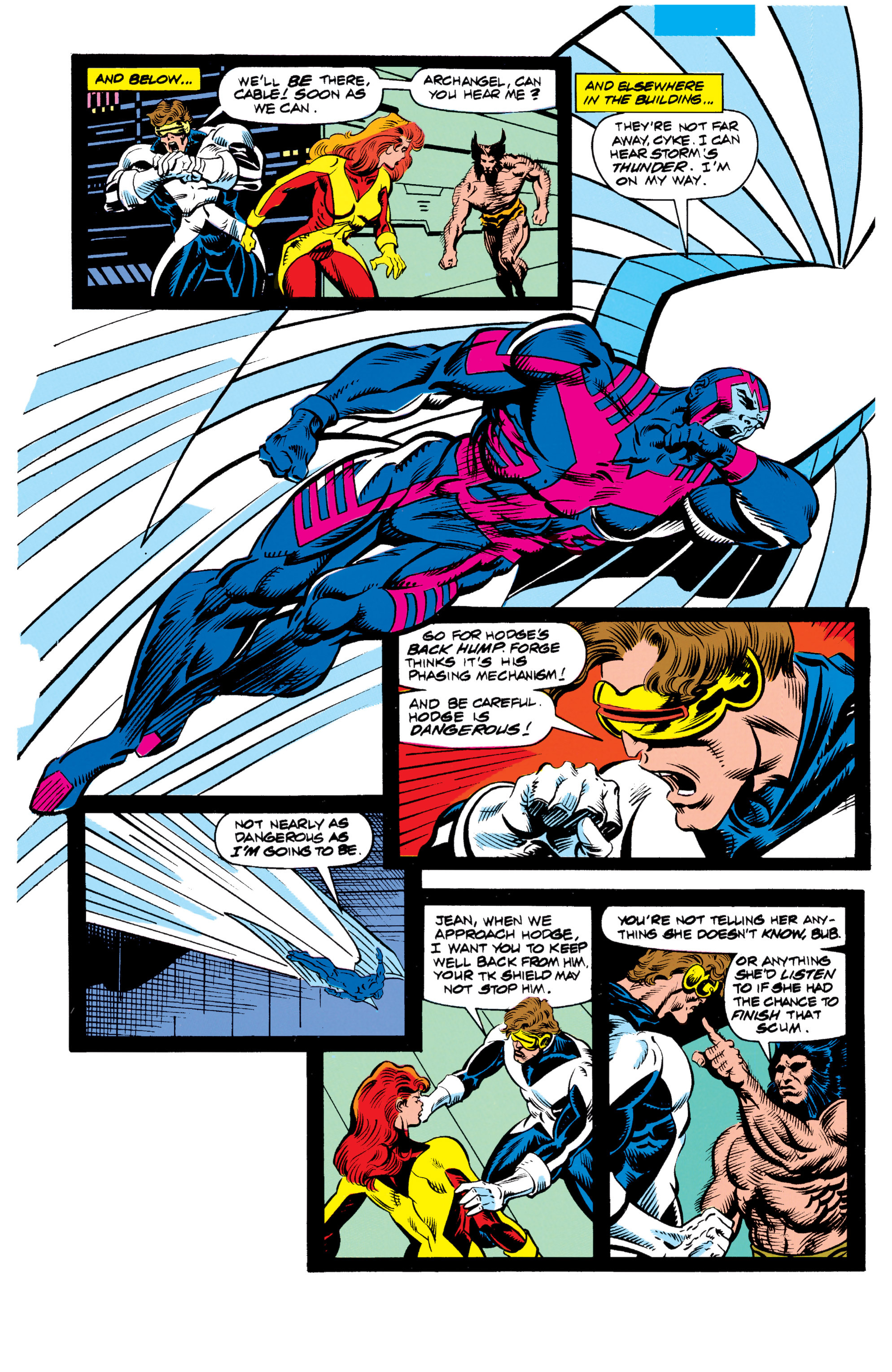 Read online X-Factor (1986) comic -  Issue #62 - 7