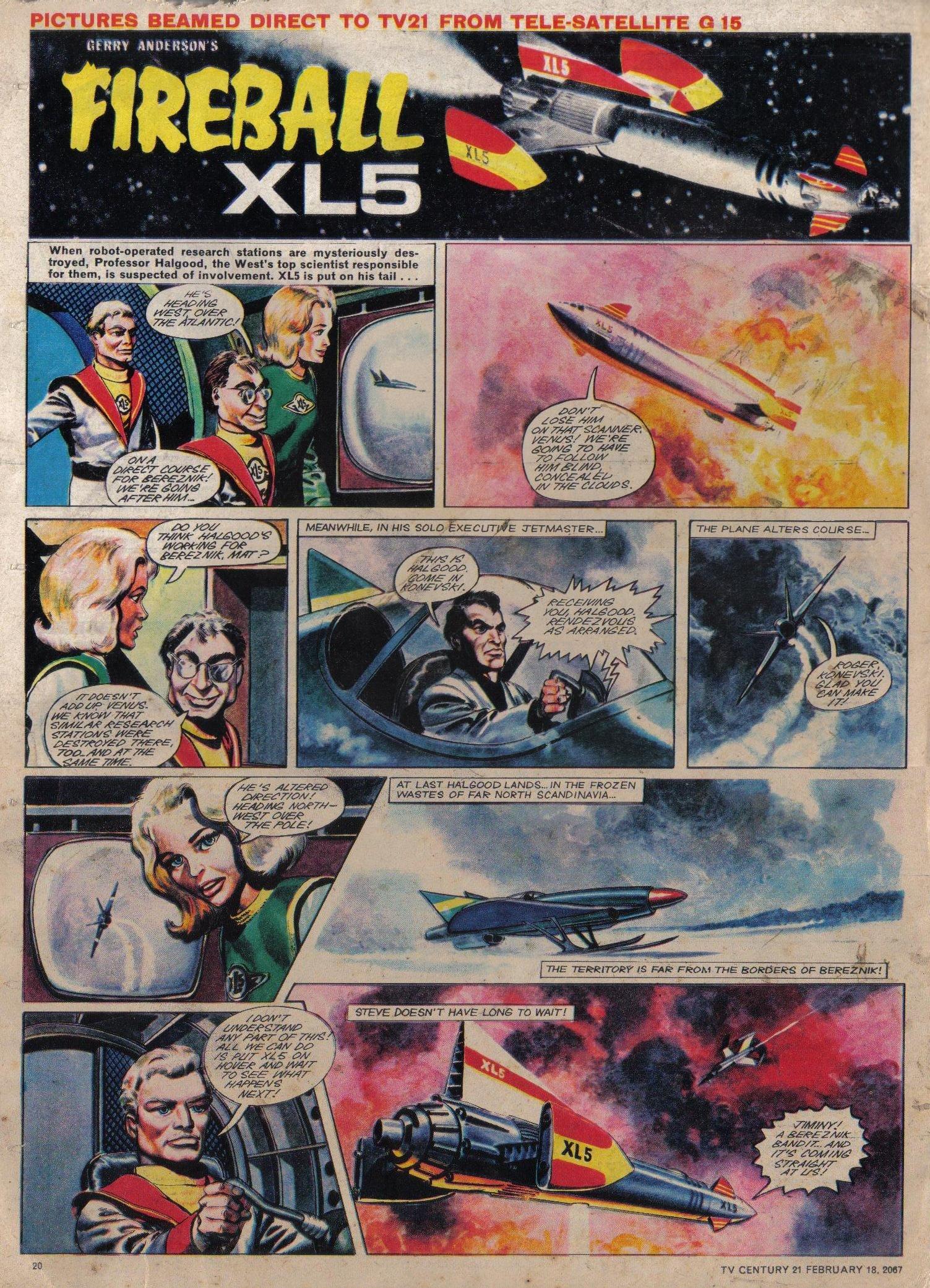 Read online TV Century 21 (TV 21) comic -  Issue #109 - 19