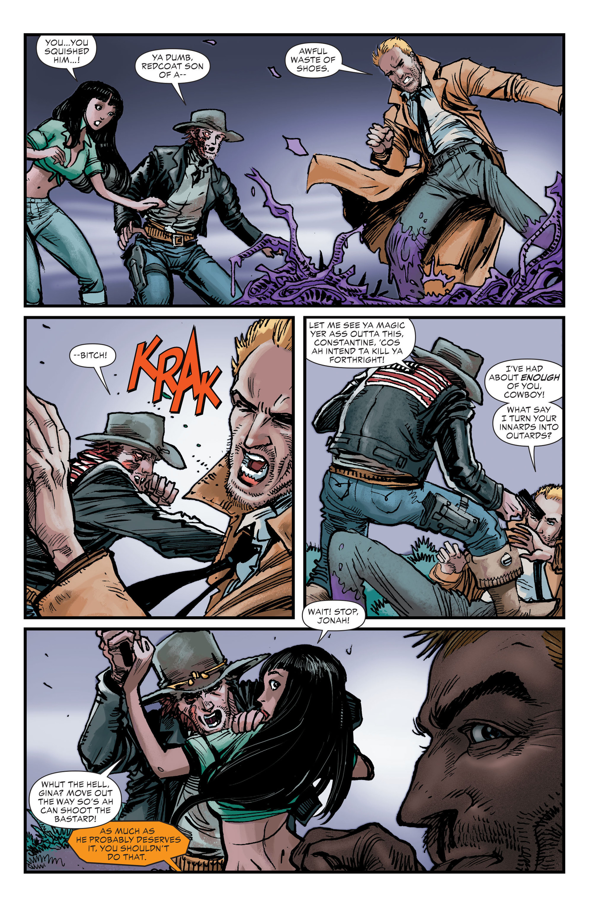 Read online All-Star Western (2011) comic -  Issue #26 - 18