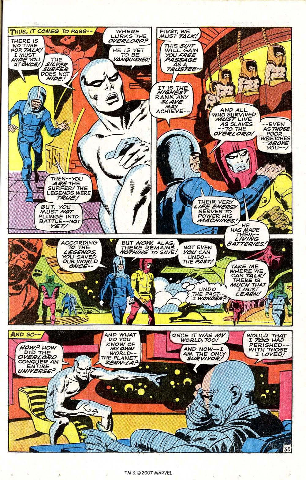 Read online Silver Surfer (1968) comic -  Issue #6 - 37