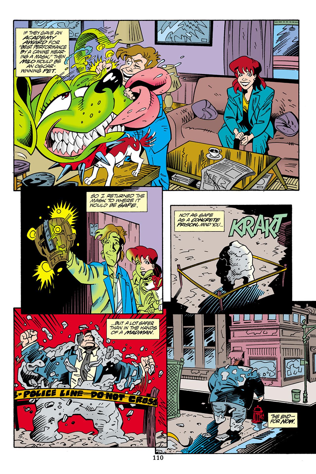 Read online Adventures Of The Mask Omnibus comic -  Issue #Adventures Of The Mask Omnibus Full - 110