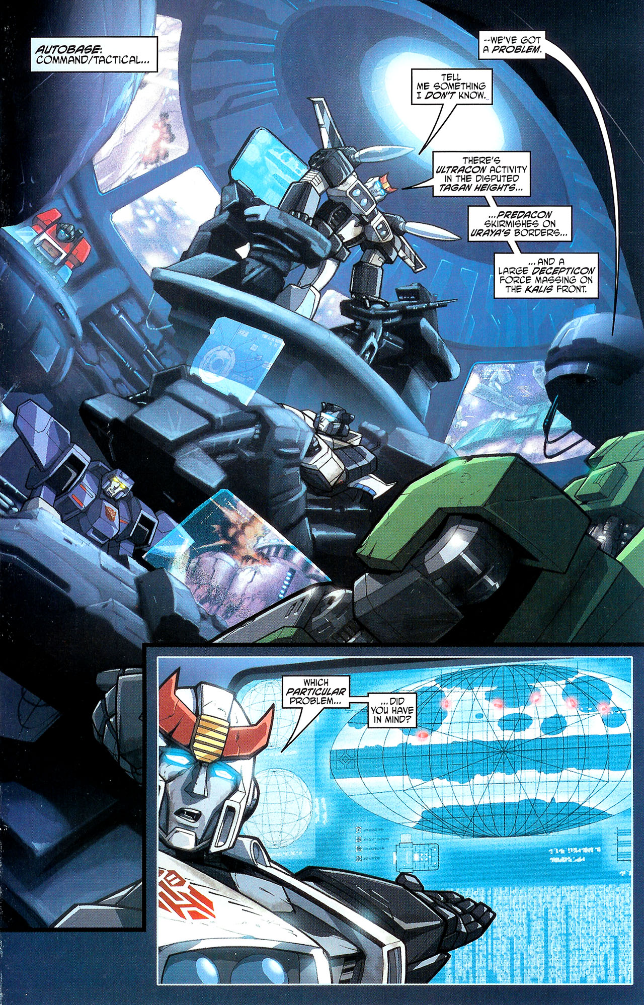"Read online Transformers War Within: ""The Dark Ages"" comic -  Issue #1 - 12"